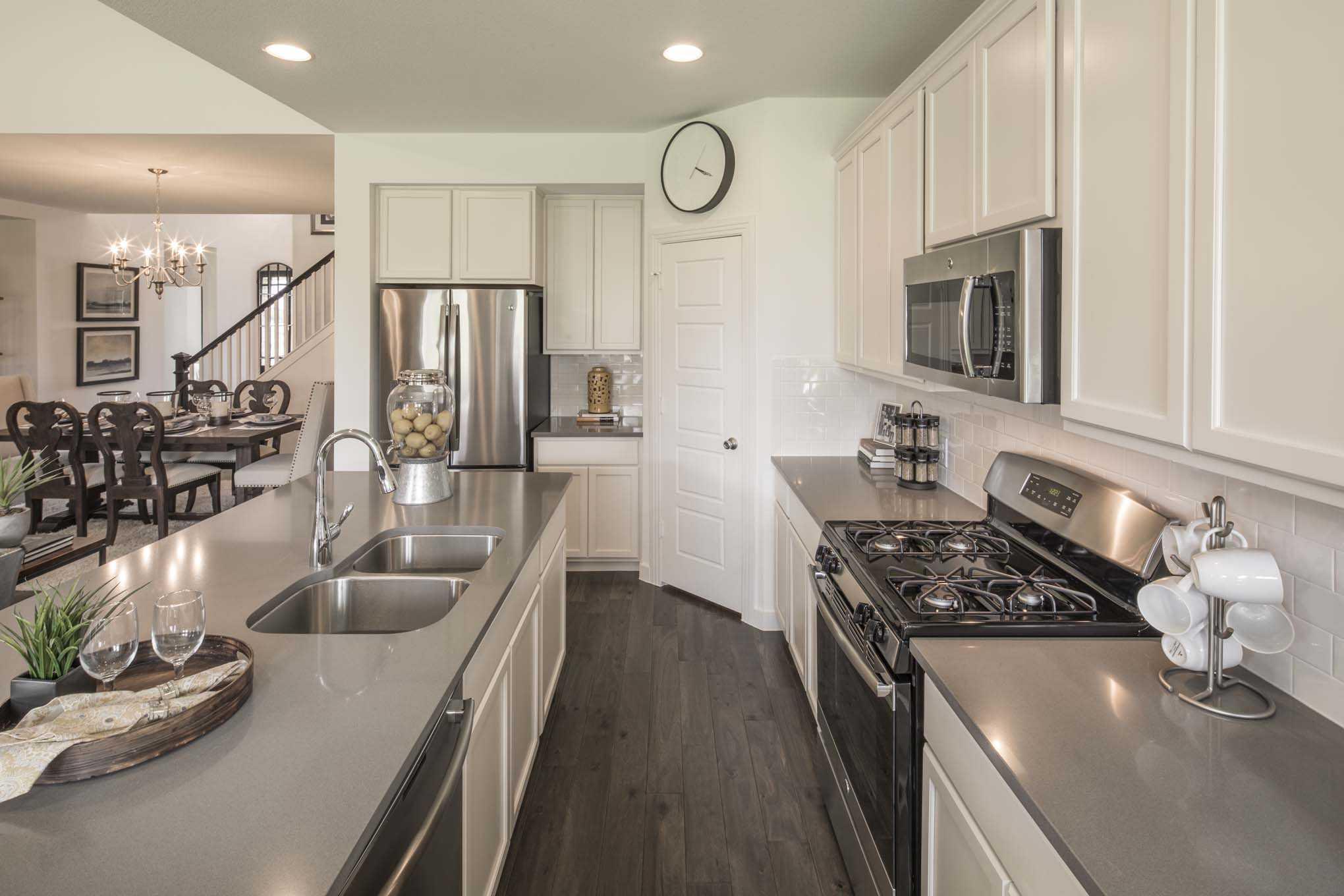 Kitchen-in-Plan Westbury-at-Union Park: Artisan Series - 50ft. lots-in-Aubrey