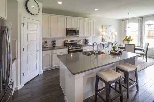Kitchen-in-Plan Westbury-at-Parkside - Celina-in-Celina