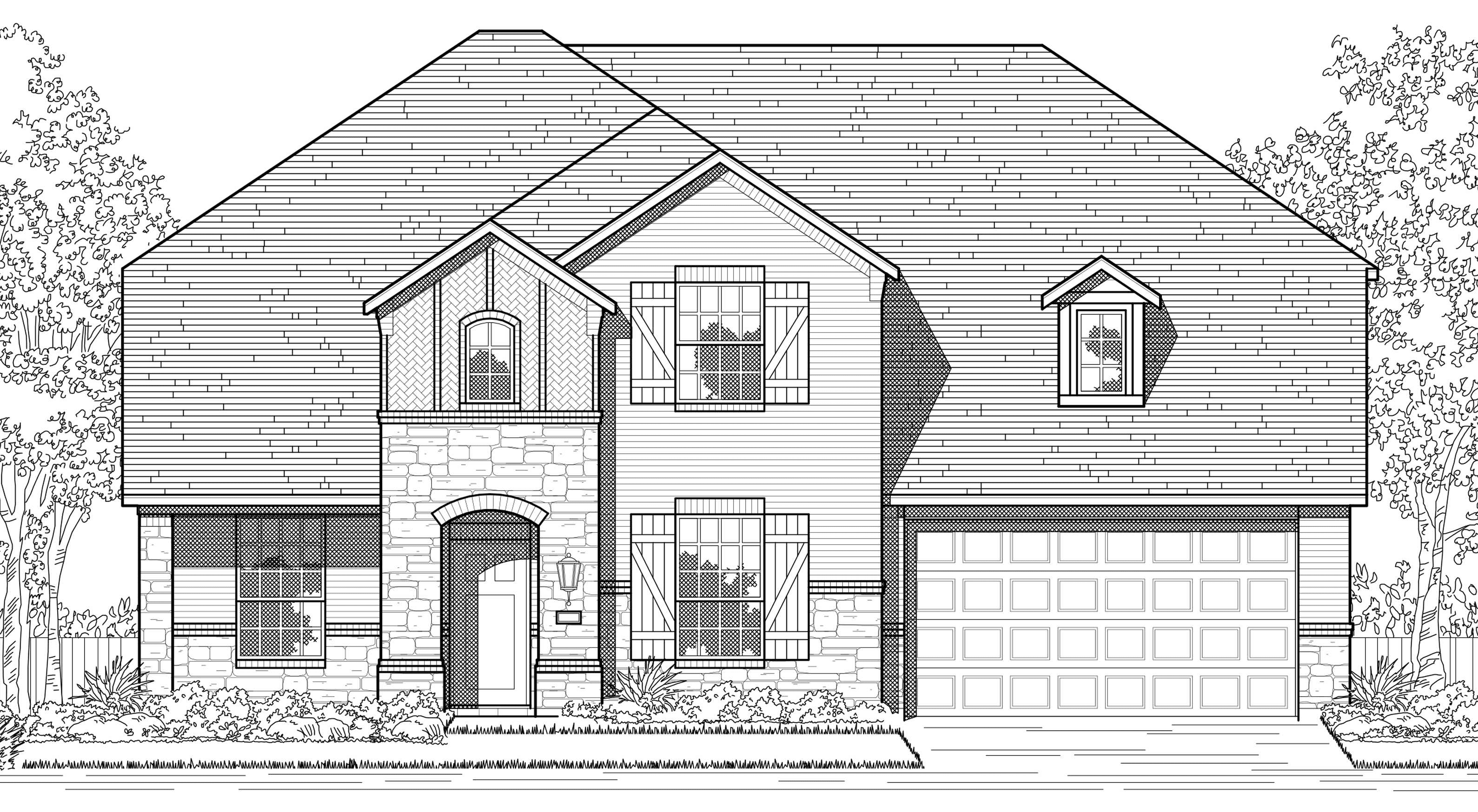 Lilyana in Celina, TX, New Homes & Floor Plans by Highland Homes