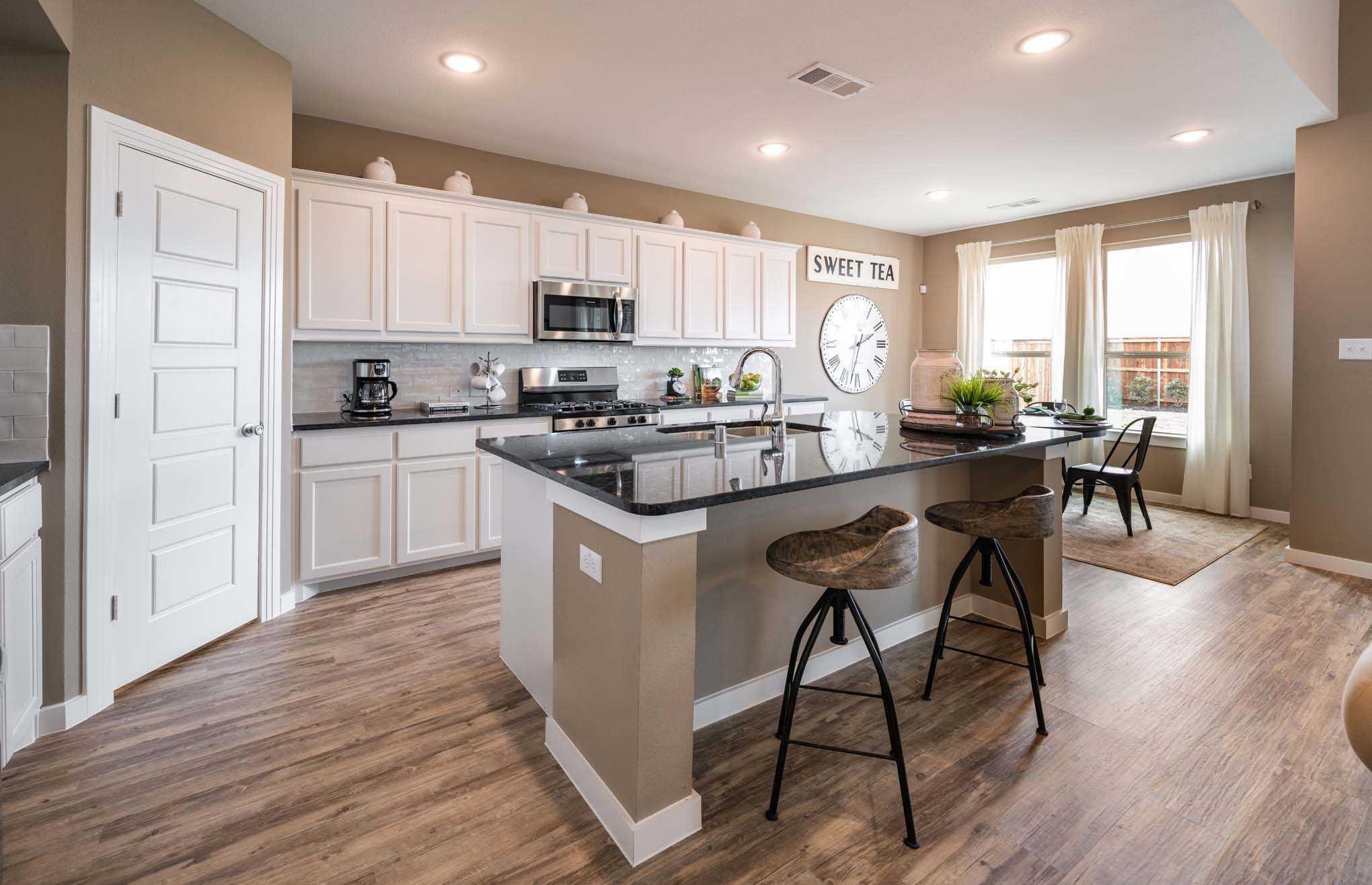 Kitchen-in-Plan Richmond-at-Pomona: 50ft. lots-in-Manvel