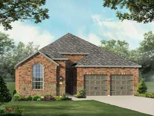Wildridge 50s in oak point tx new homes floor plans by highland 10001 echo summit driveplan 551 freerunsca Image collections