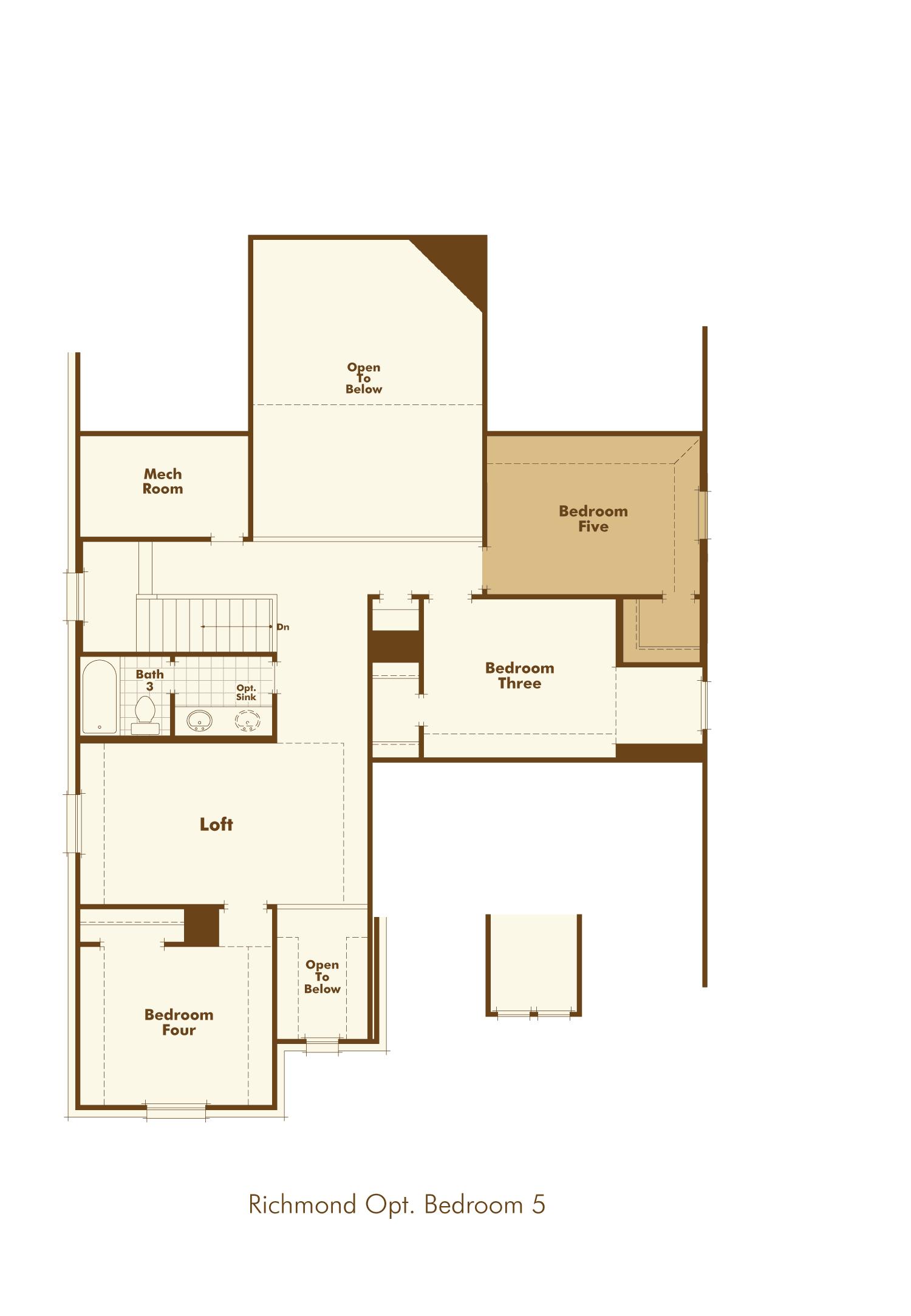 Plan Richmond Model At 1510 Calcot Lane