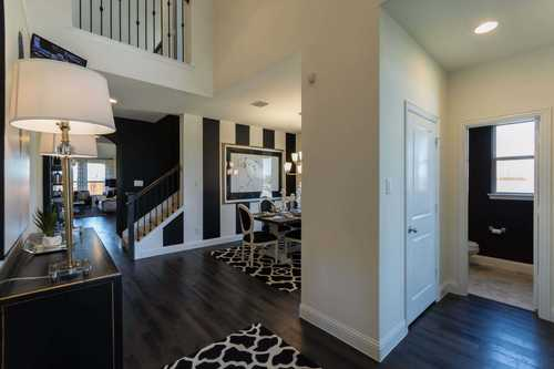 Greatroom-and-Dining-in-Plan 558H-at-Cane Island: 55ft. lots-in-Katy