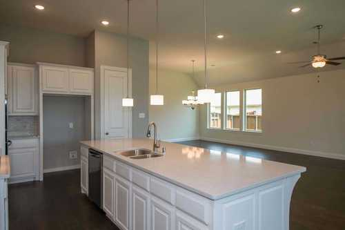 Kitchen-in-Plan 273-at-Parkside at Mayfield Ranch-in-Georgetown
