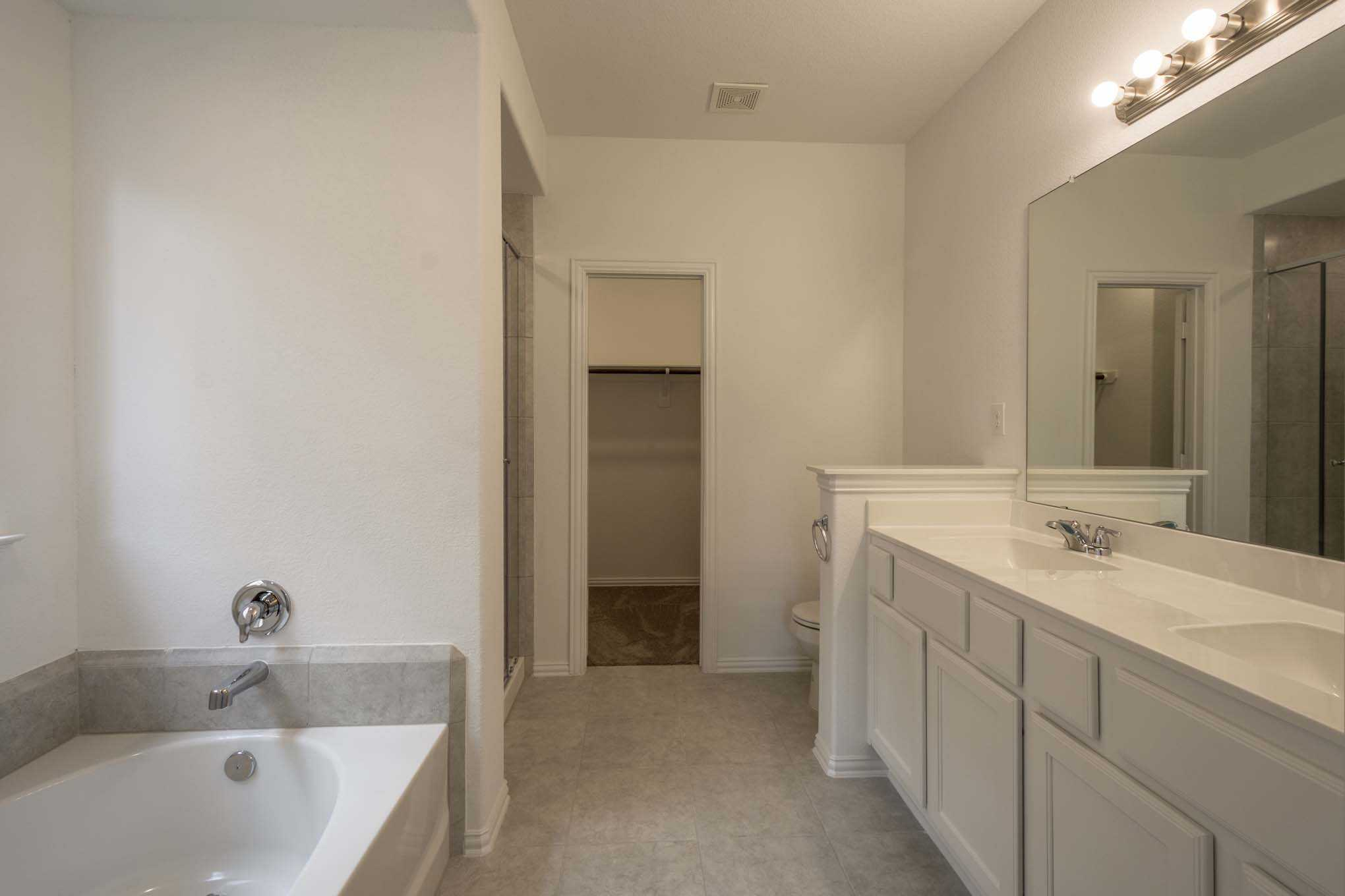 Bathroom featured in the Plan Ascot By Highland Homes in Austin, TX