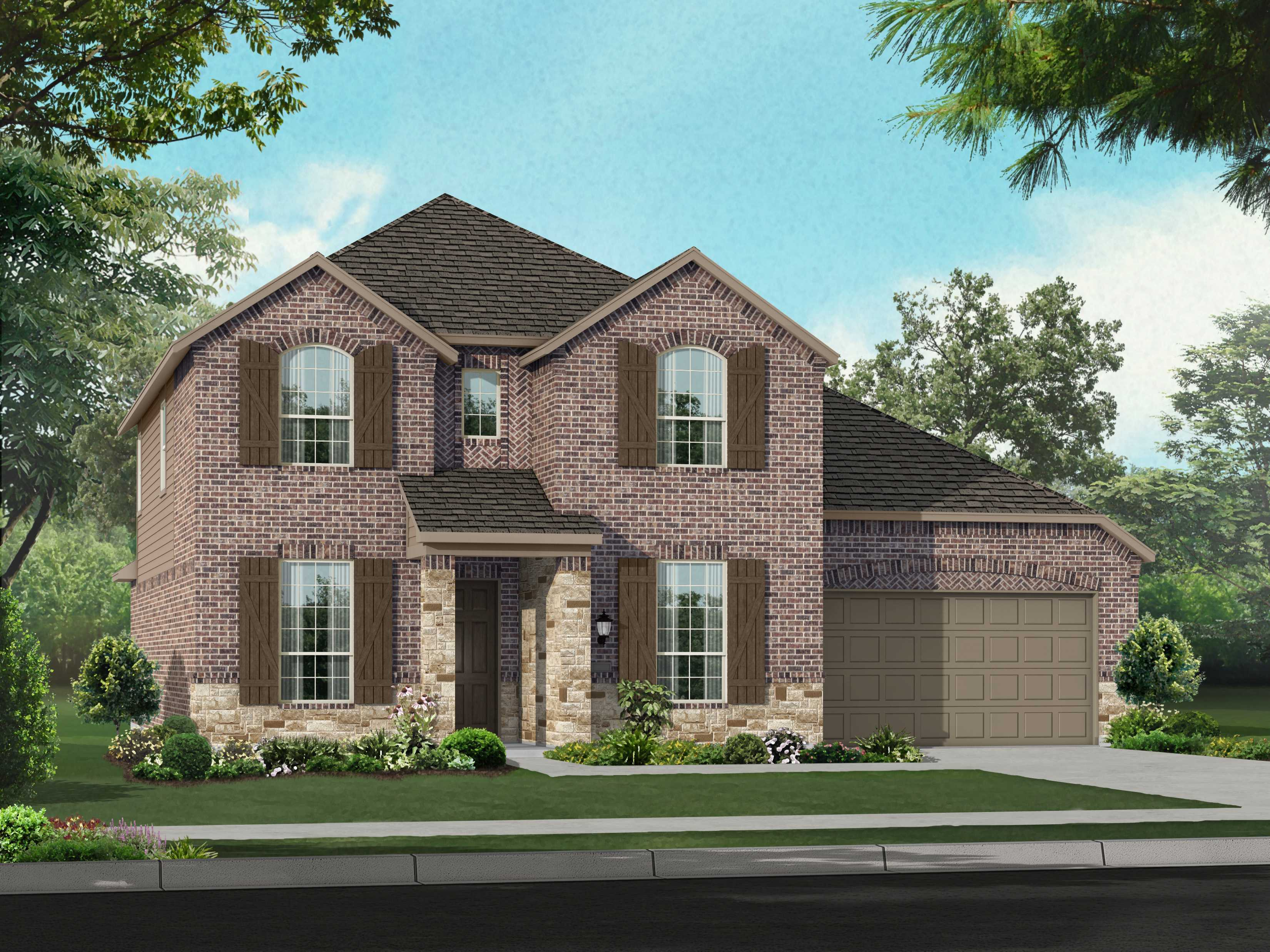 New Construction Homes & Plans In Austin, Tx - 6,780