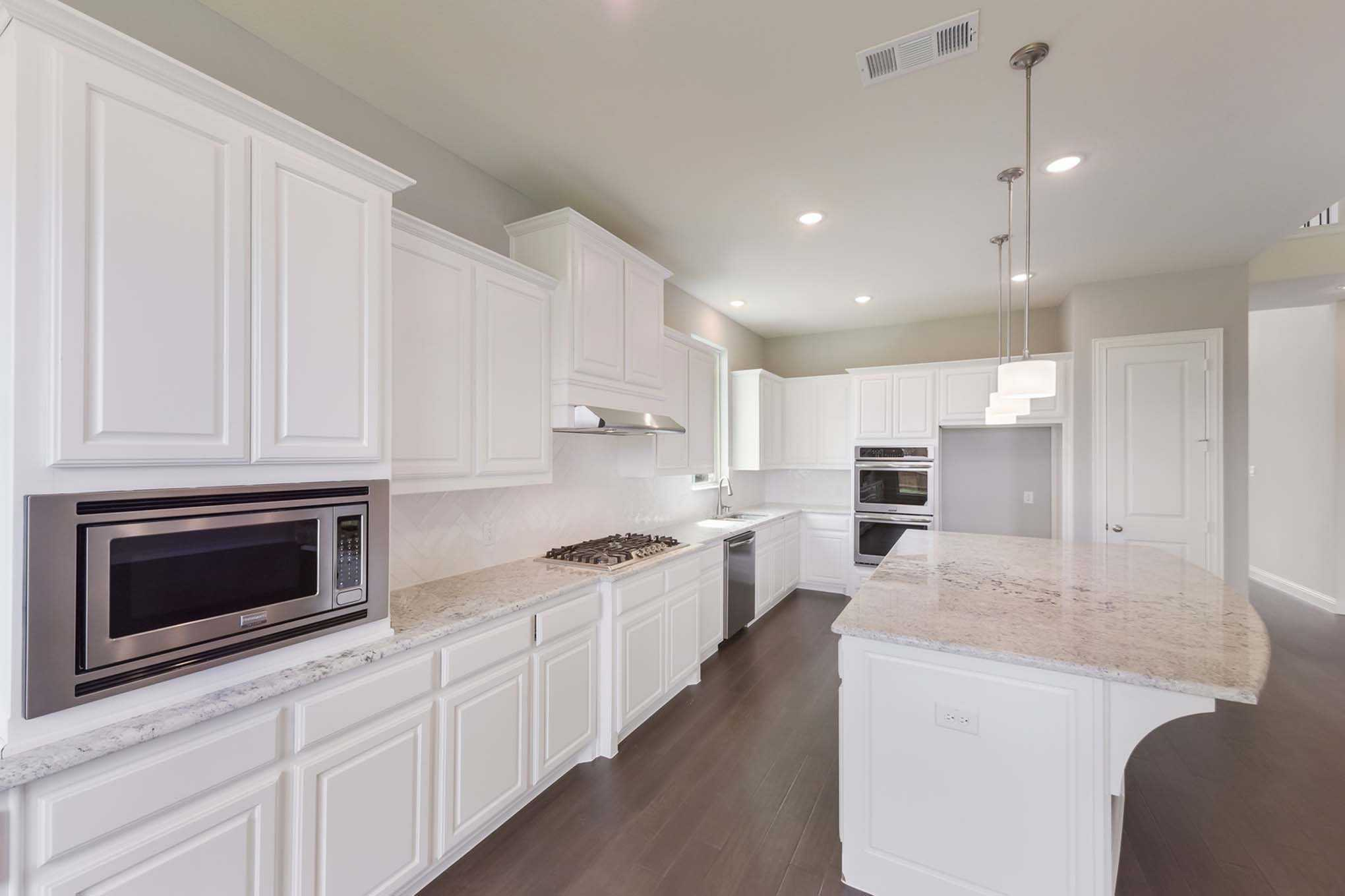 Kitchen featured in the Plan 277 By Highland Homes in Houston, TX
