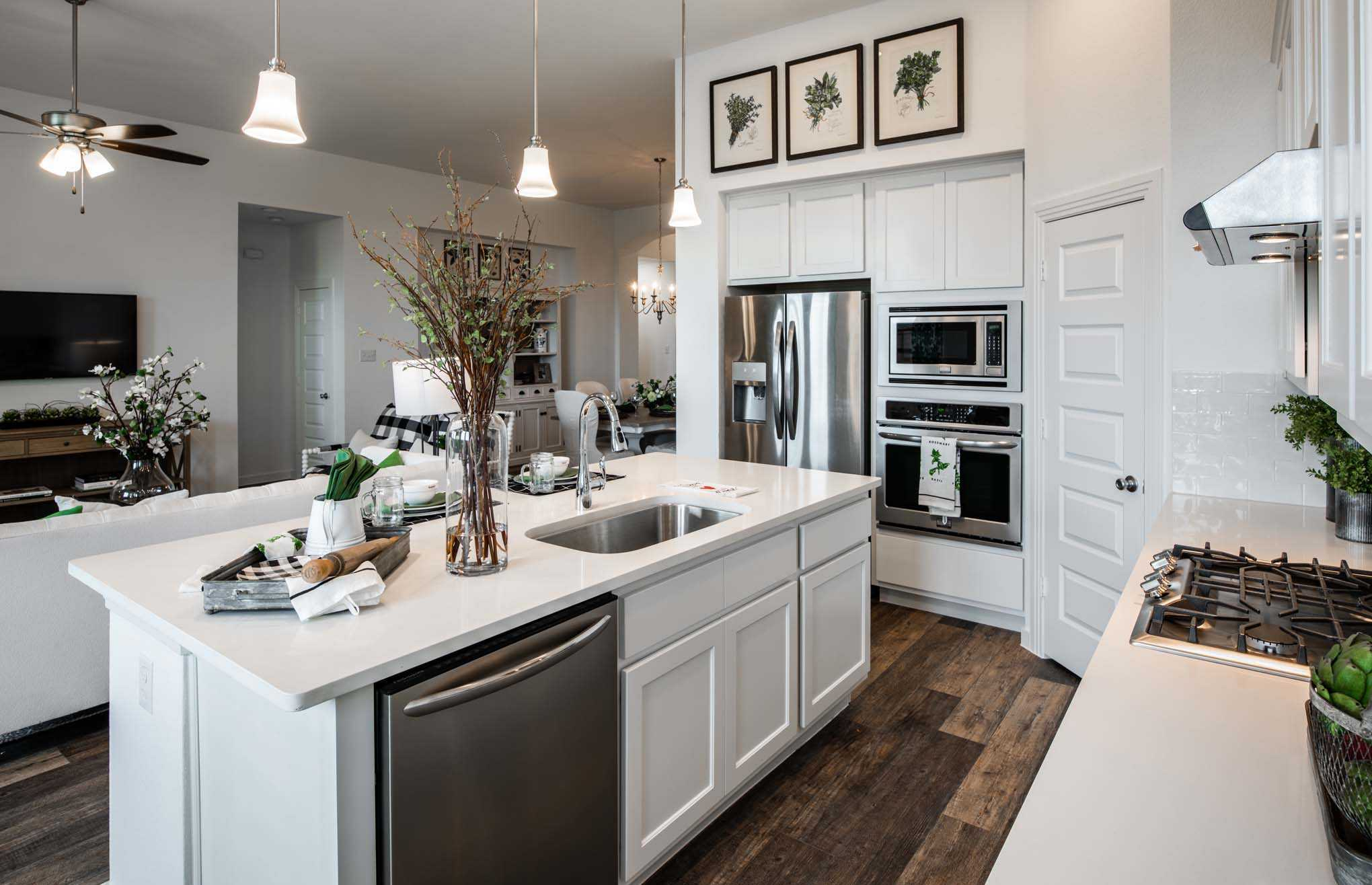 Kitchen-in-Plan Dorchester-at-West Crossing-in-Anna