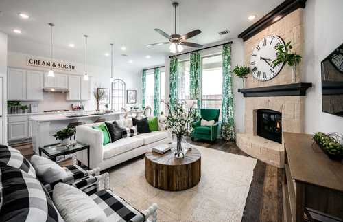 Greatroom-and-Dining-in-Plan Dorchester-at-Wildridge: Artisan Series - 50ft. lots-in-Oak Point