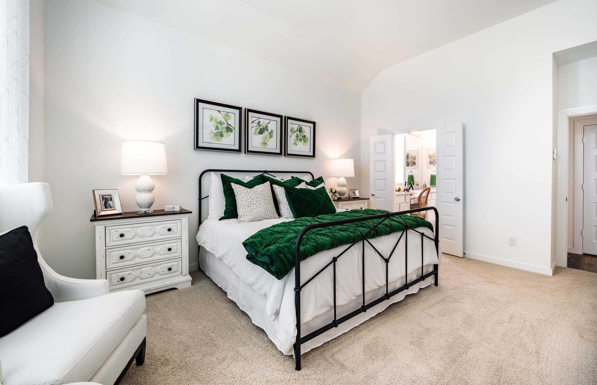 Bedroom-in-Plan Dorchester-at-Davis Ranch: 50ft. lots-in-San Antonio
