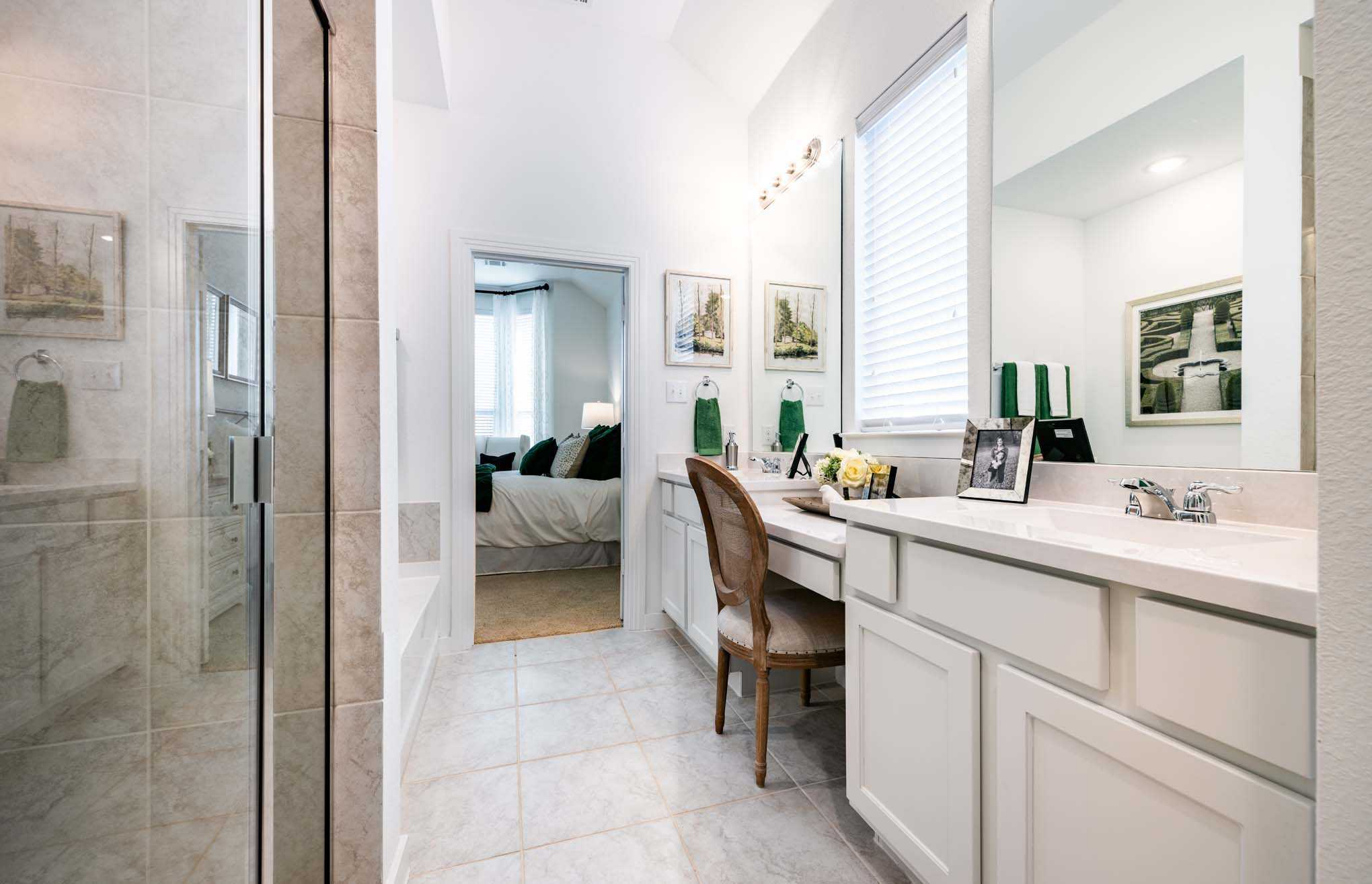 Bathroom-in-Plan Dorchester-at-Liberty: Artisan Series - 50ft. lots-in-Melissa