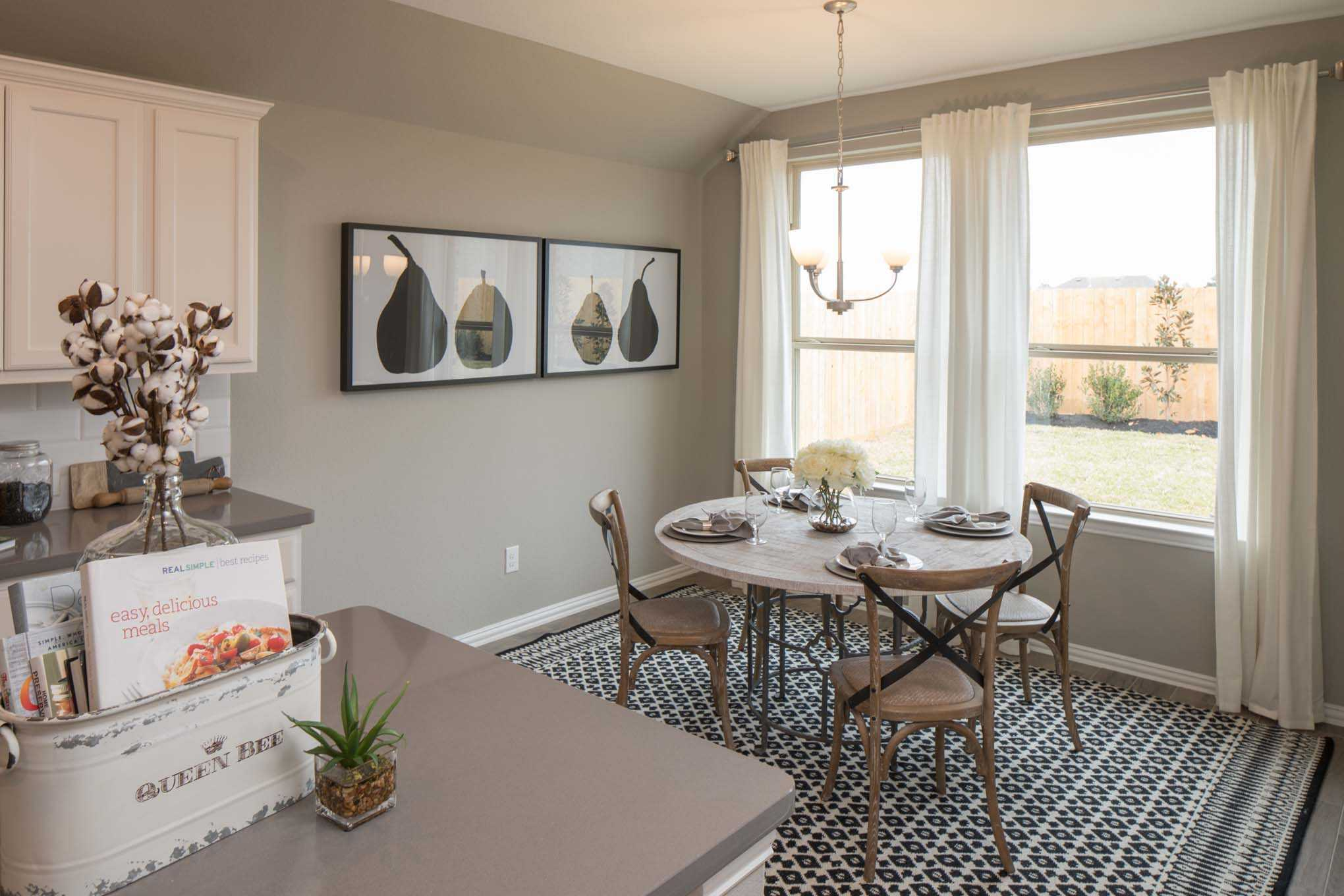 Breakfast-Room-in-Plan Ashwood-at-Lakeside at Tessera on Lake Travis: 50ft. lots-in-Lago Vista