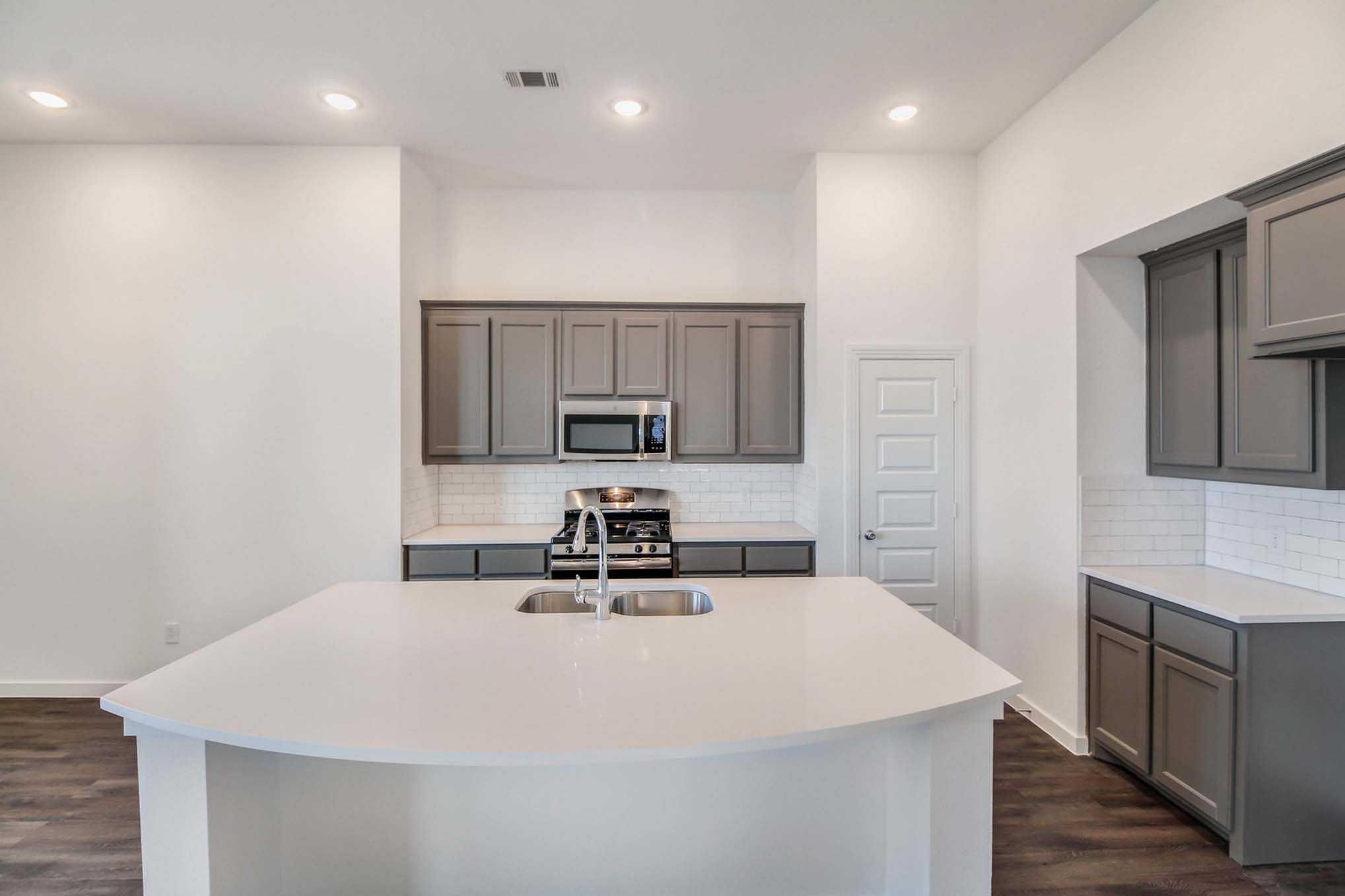 Kitchen-in-Plan Glenhurst-at-Sandbrock Ranch: 50ft. lots-in-Aubrey