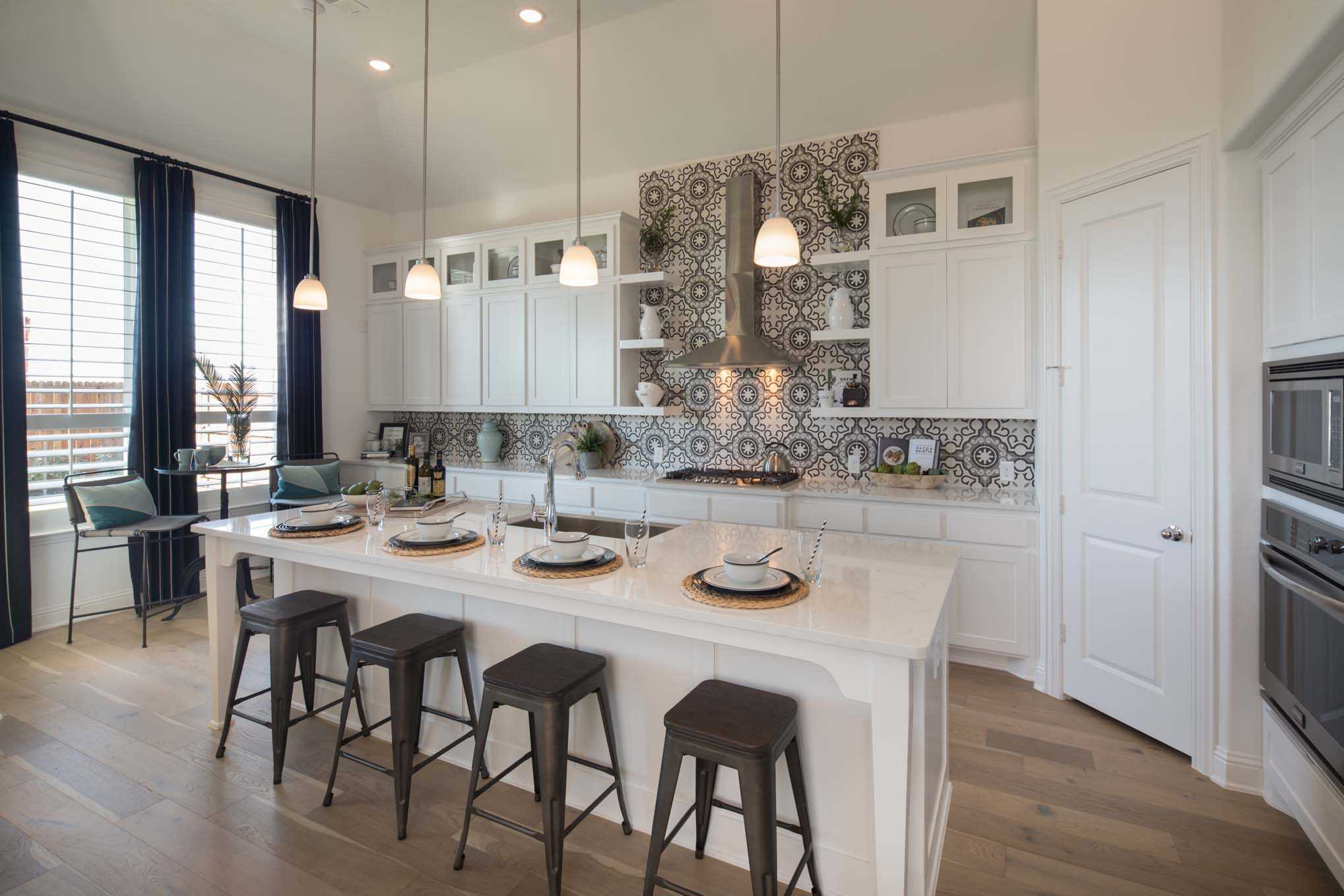 Kitchen-in-Plan 550-at-Woodforest: 55ft. lots-in-Montgomery