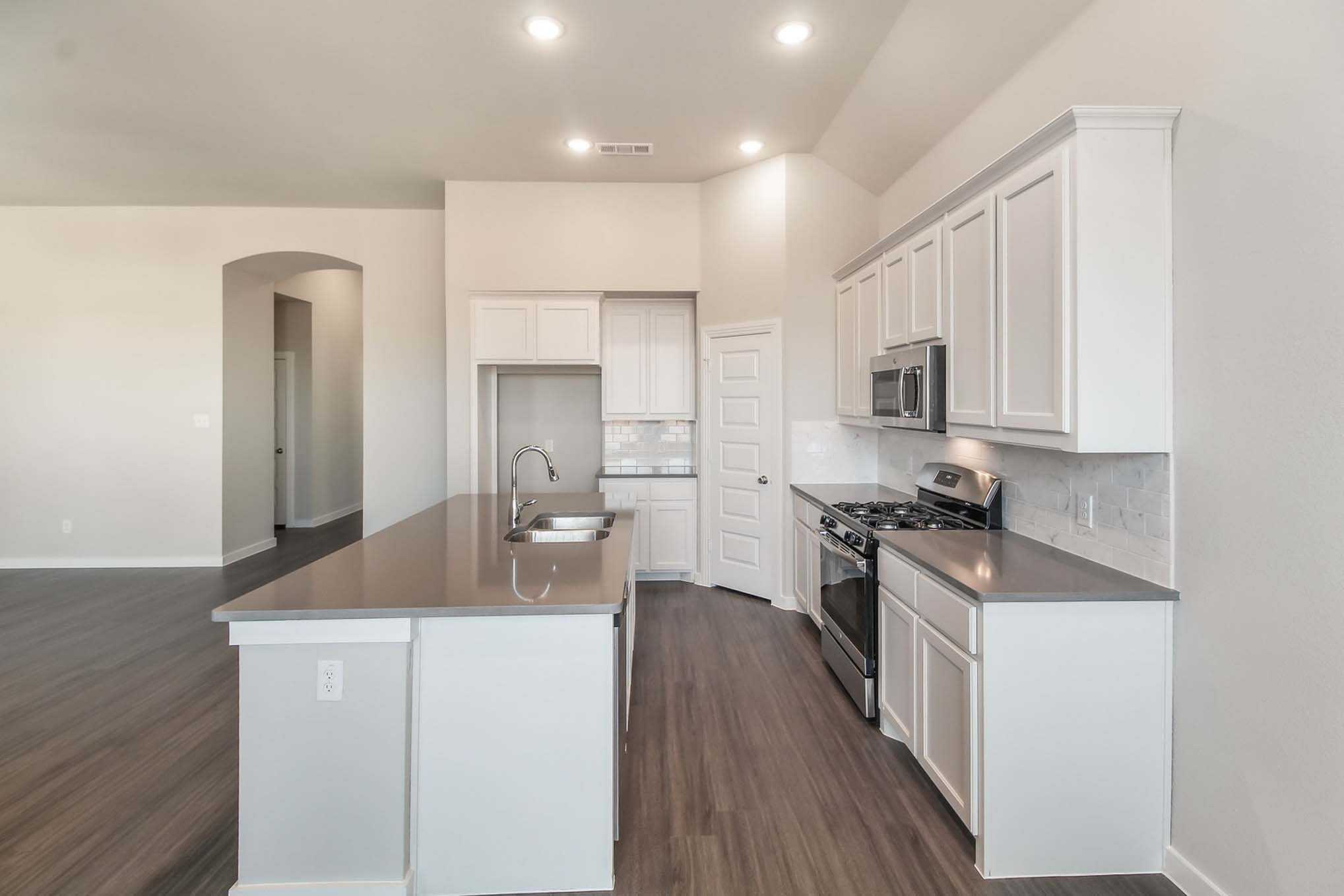 Kitchen-in-Plan Camden-at-Crosswinds: 50ft. lots-in-Kyle