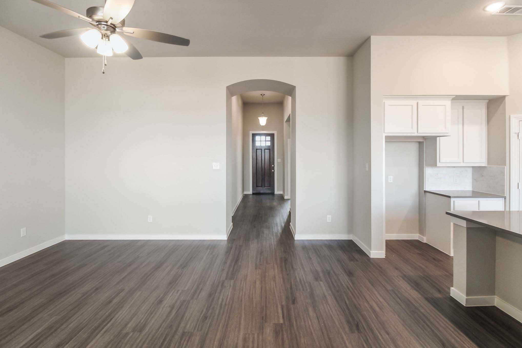Living Area featured in the Plan Camden By Highland Homes in San Antonio, TX