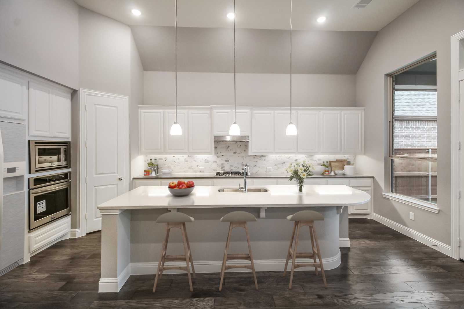 Kitchen featured in the Plan 211 By Highland Homes in Fort Worth, TX