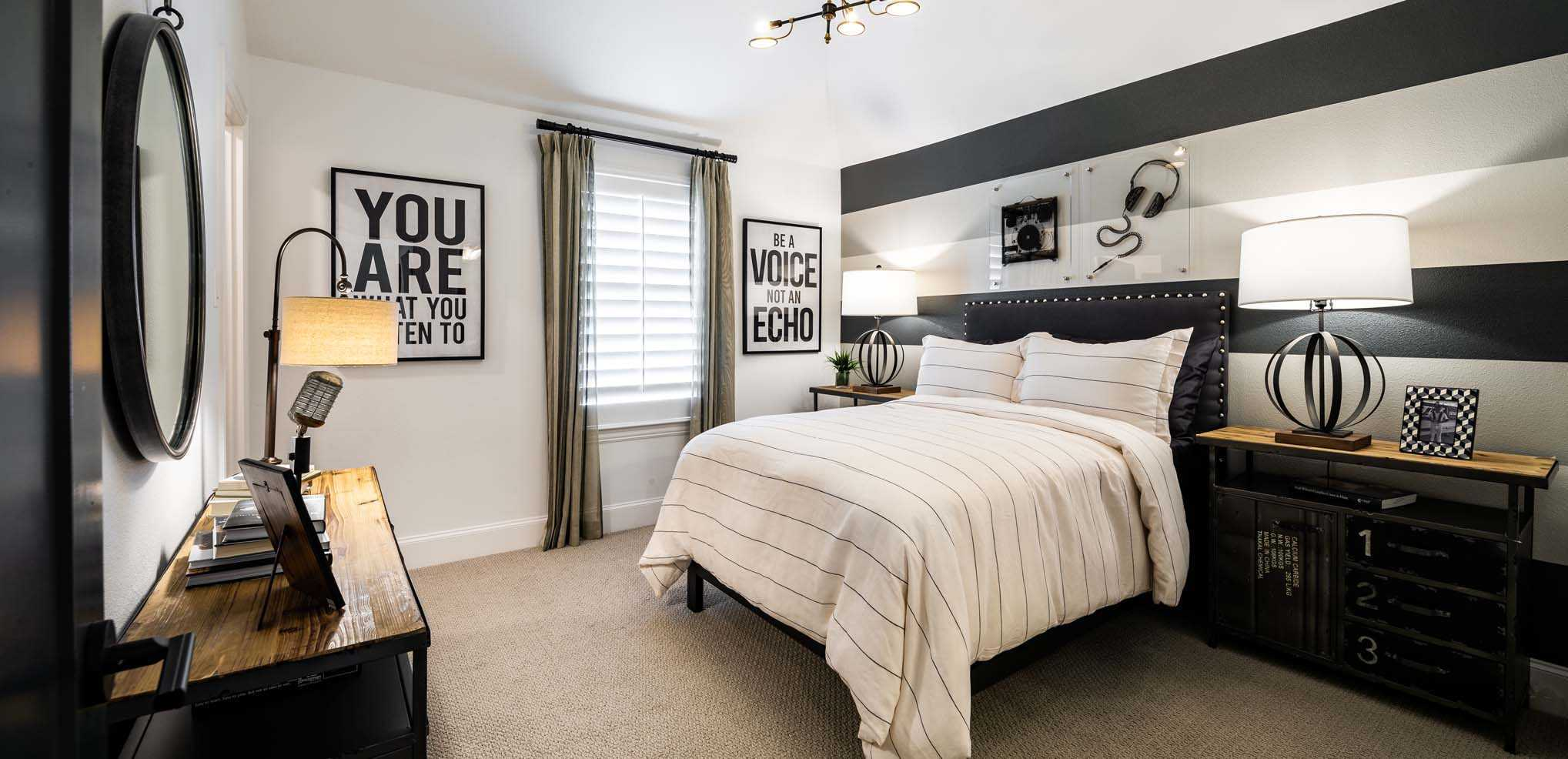 Bedroom featured in the Plan 3530 By Huntington Homes in Dallas, TX