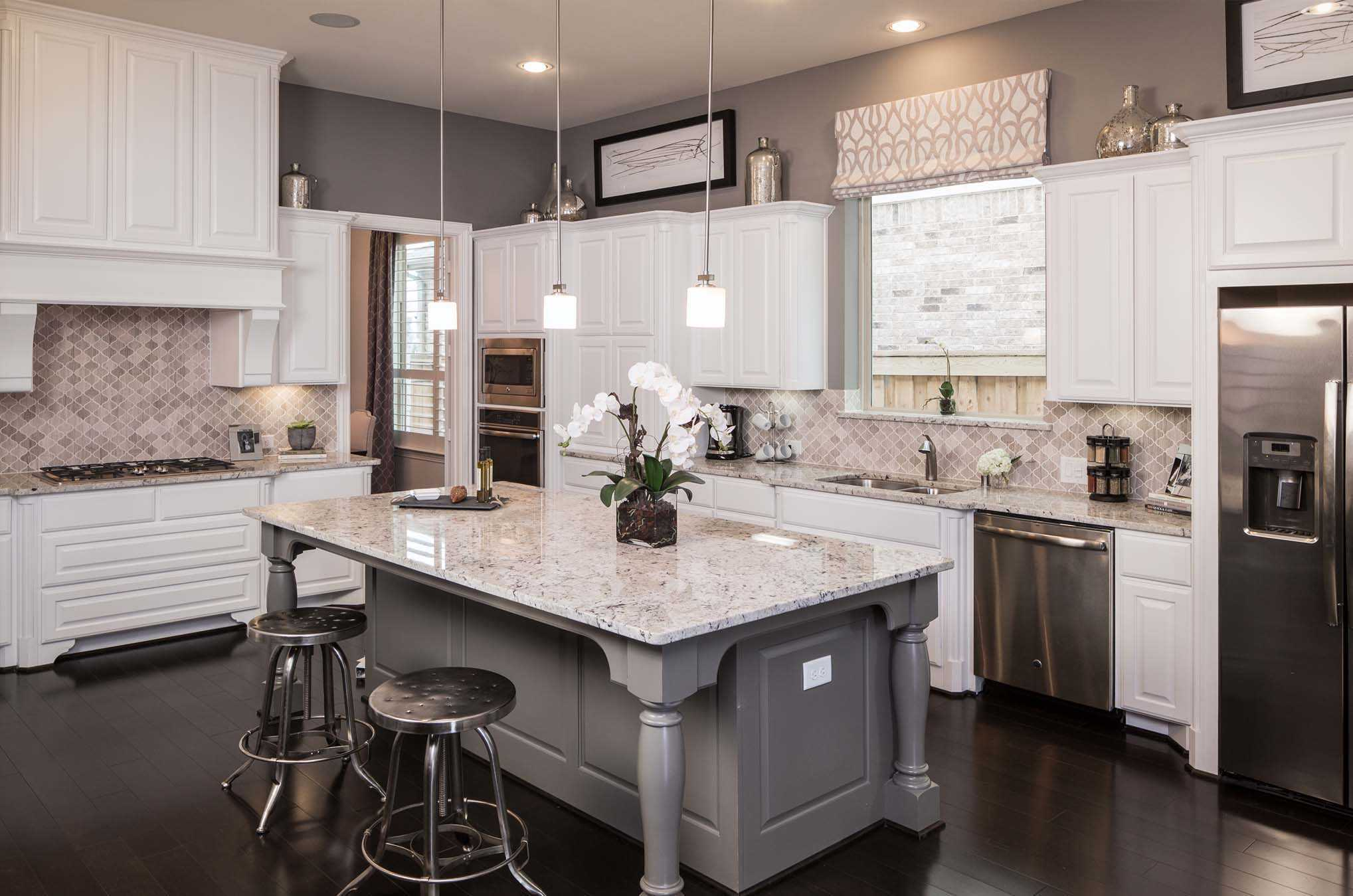 Kitchen featured in the Plan 296 By Highland Homes in Dallas, TX