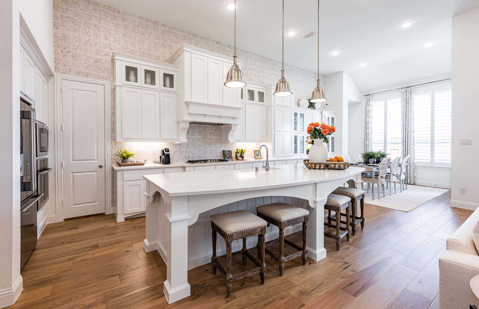 Kitchen featured in the Plan 274 By Highland Homes in San Antonio, TX