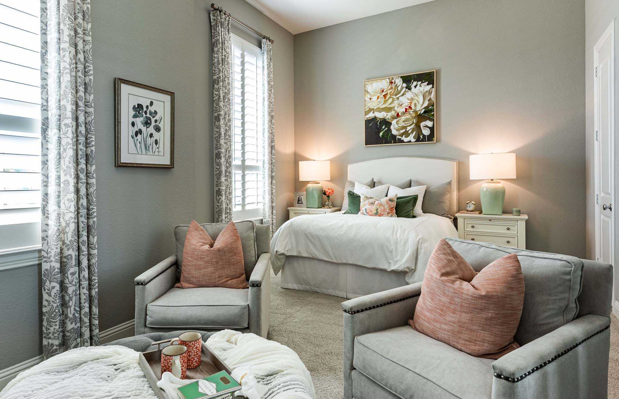 Bedroom featured in the Plan 274 By Highland Homes in San Antonio, TX