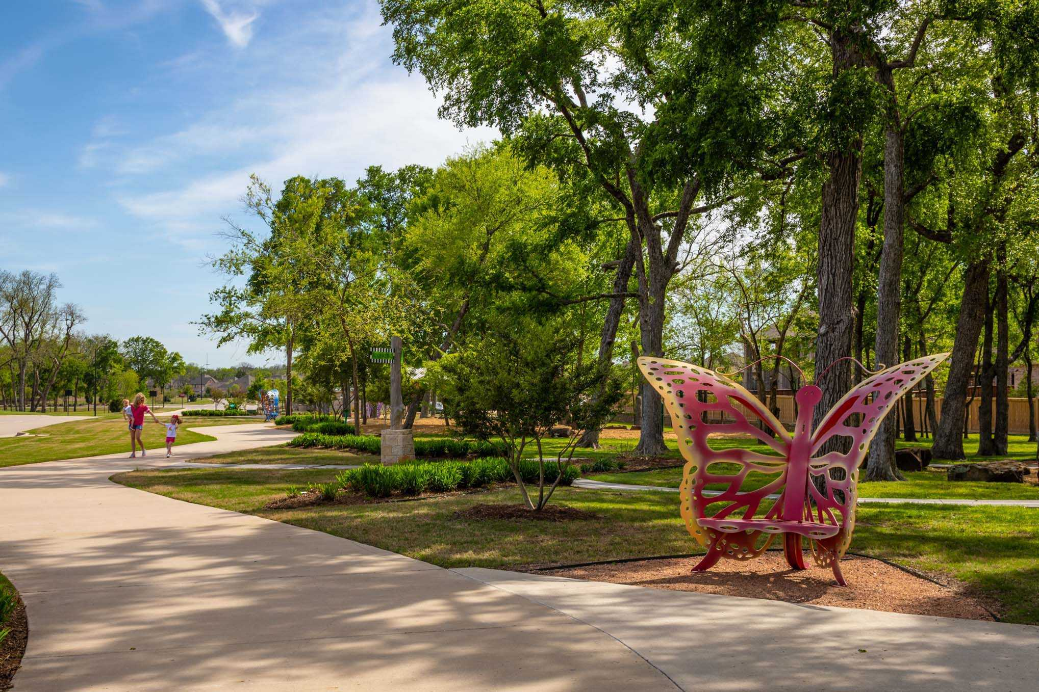 'Trinity Falls: 40ft. lots' by Highland Homes in Dallas