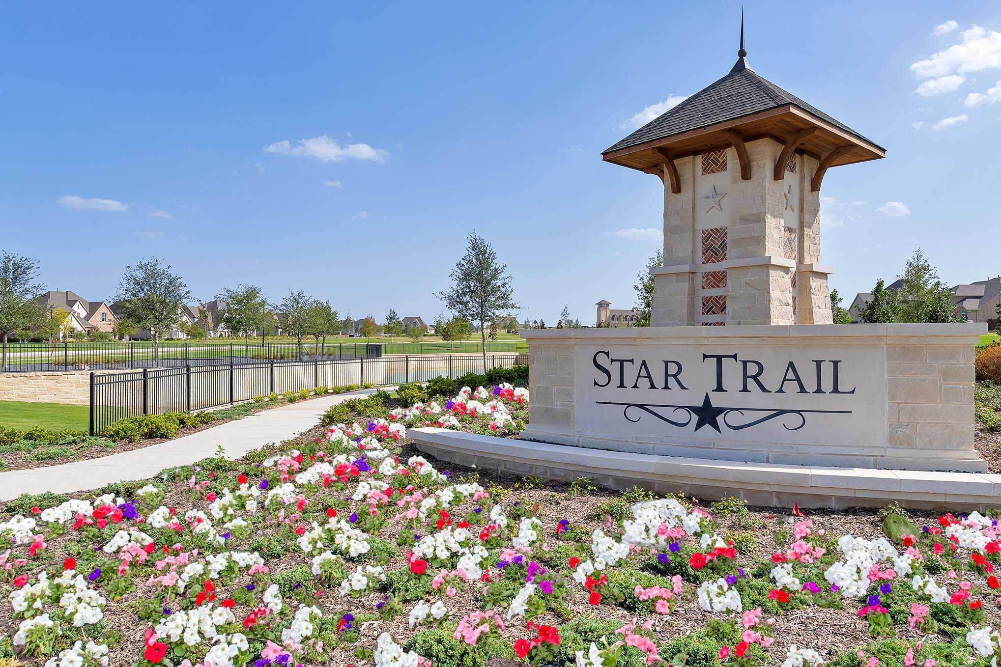 'Star Trail: 86ft. lots' by Highland Homes in Dallas