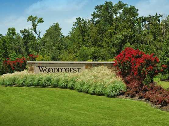 Woodforest: 55ft. lots,77316