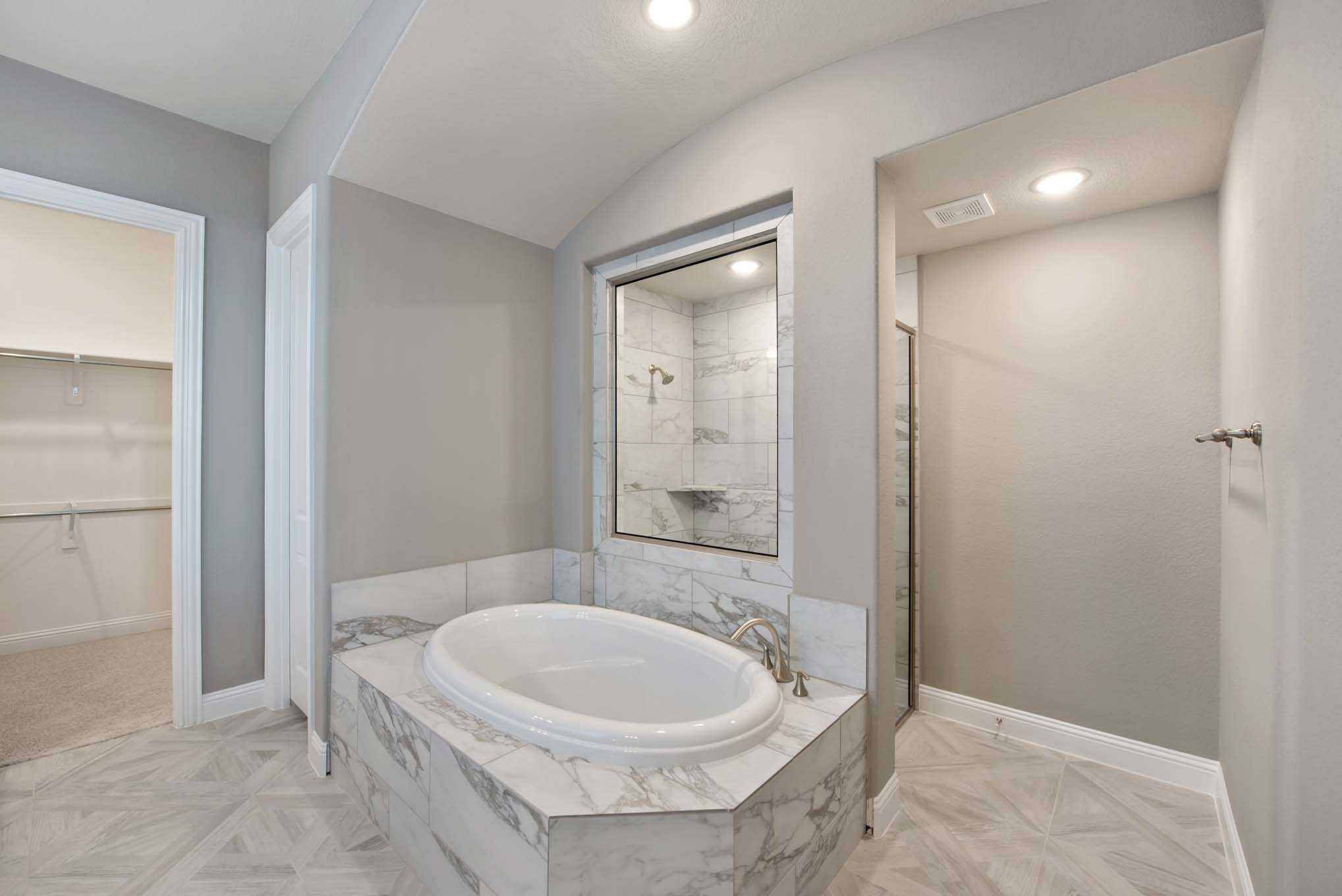 Bathroom featured in the Plan 224 By Highland Homes in Austin, TX