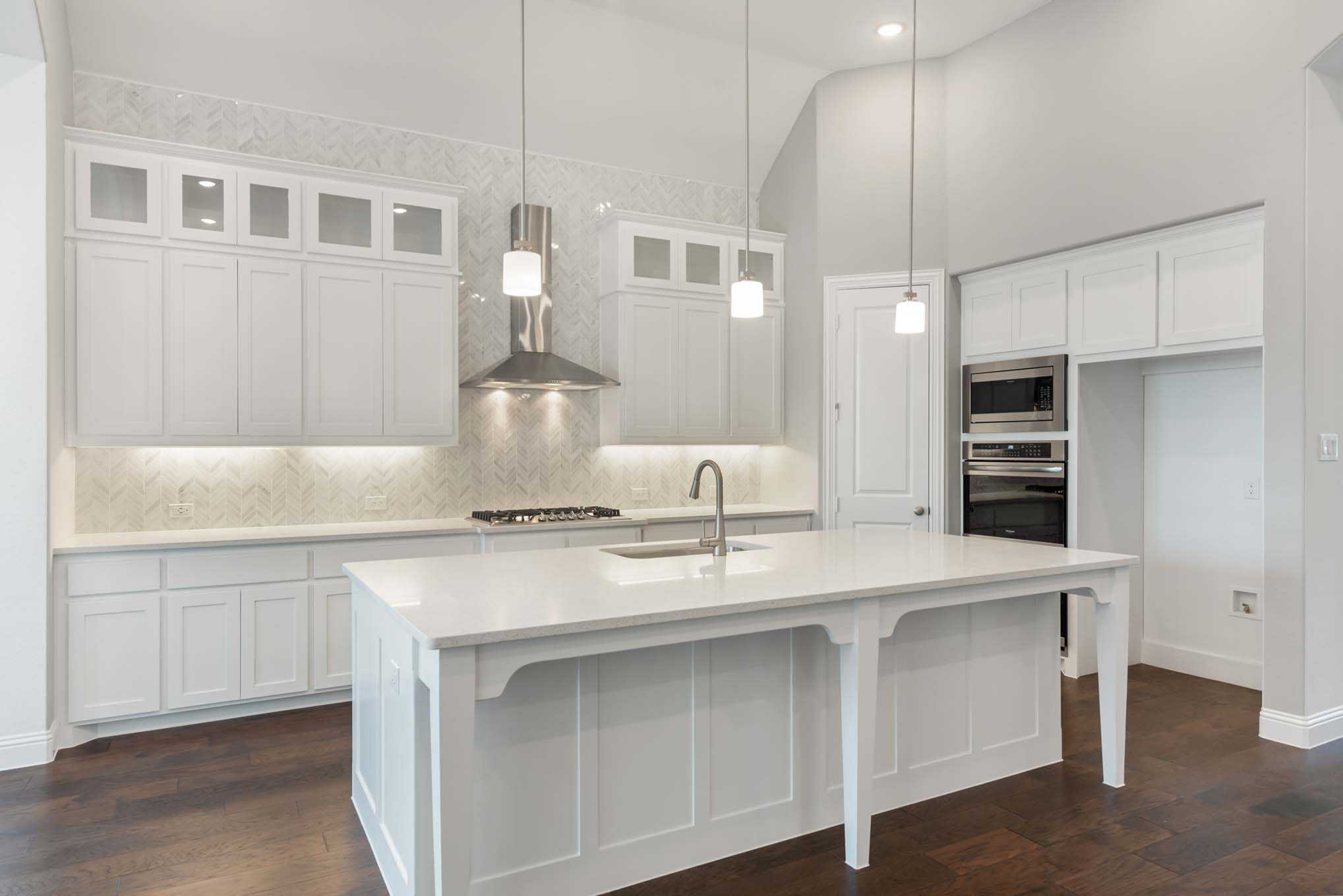 Kitchen featured in the Plan 217 By Highland Homes in San Antonio, TX