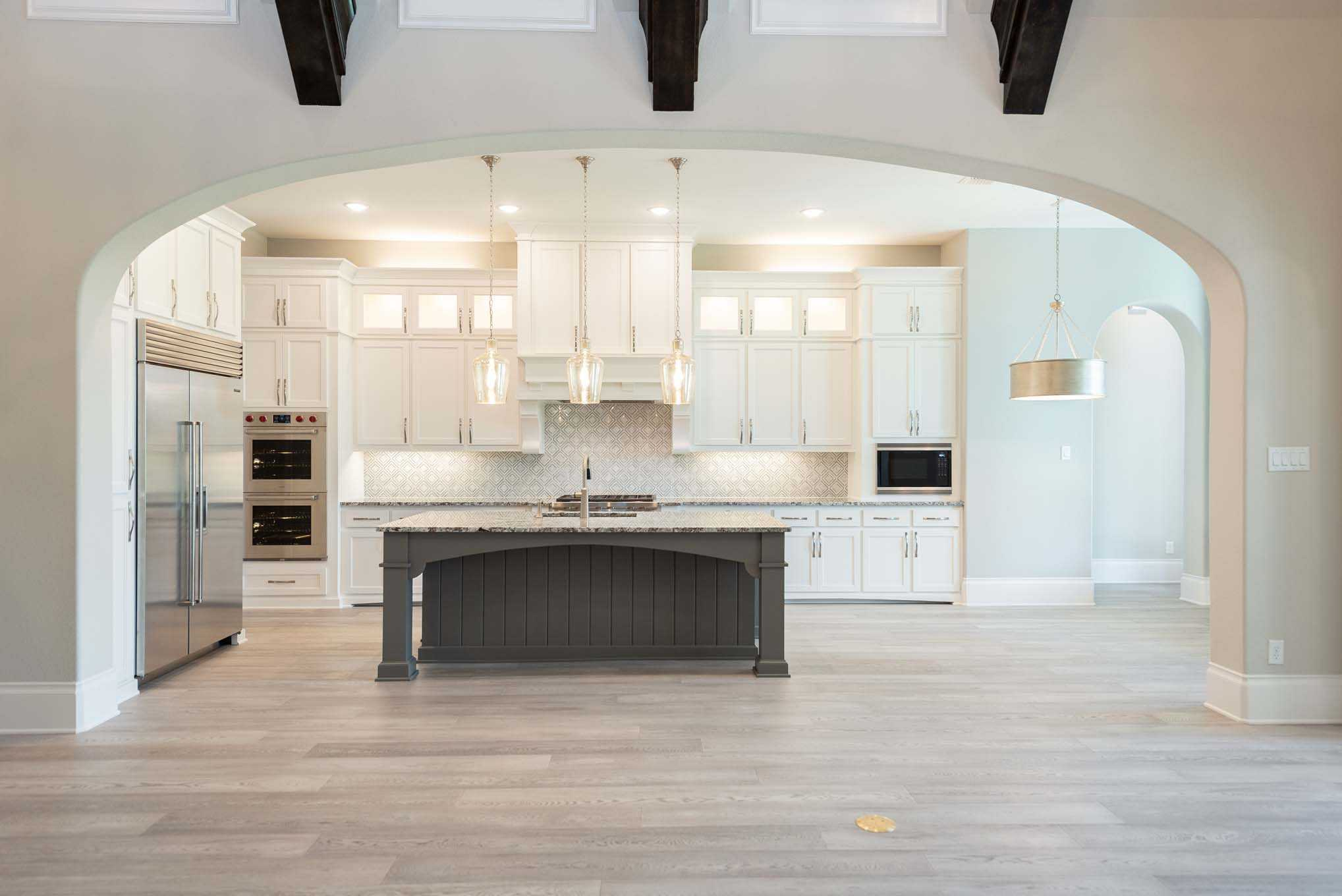 Kitchen featured in the Plan 6011 By Huntington Homes in Dallas, TX