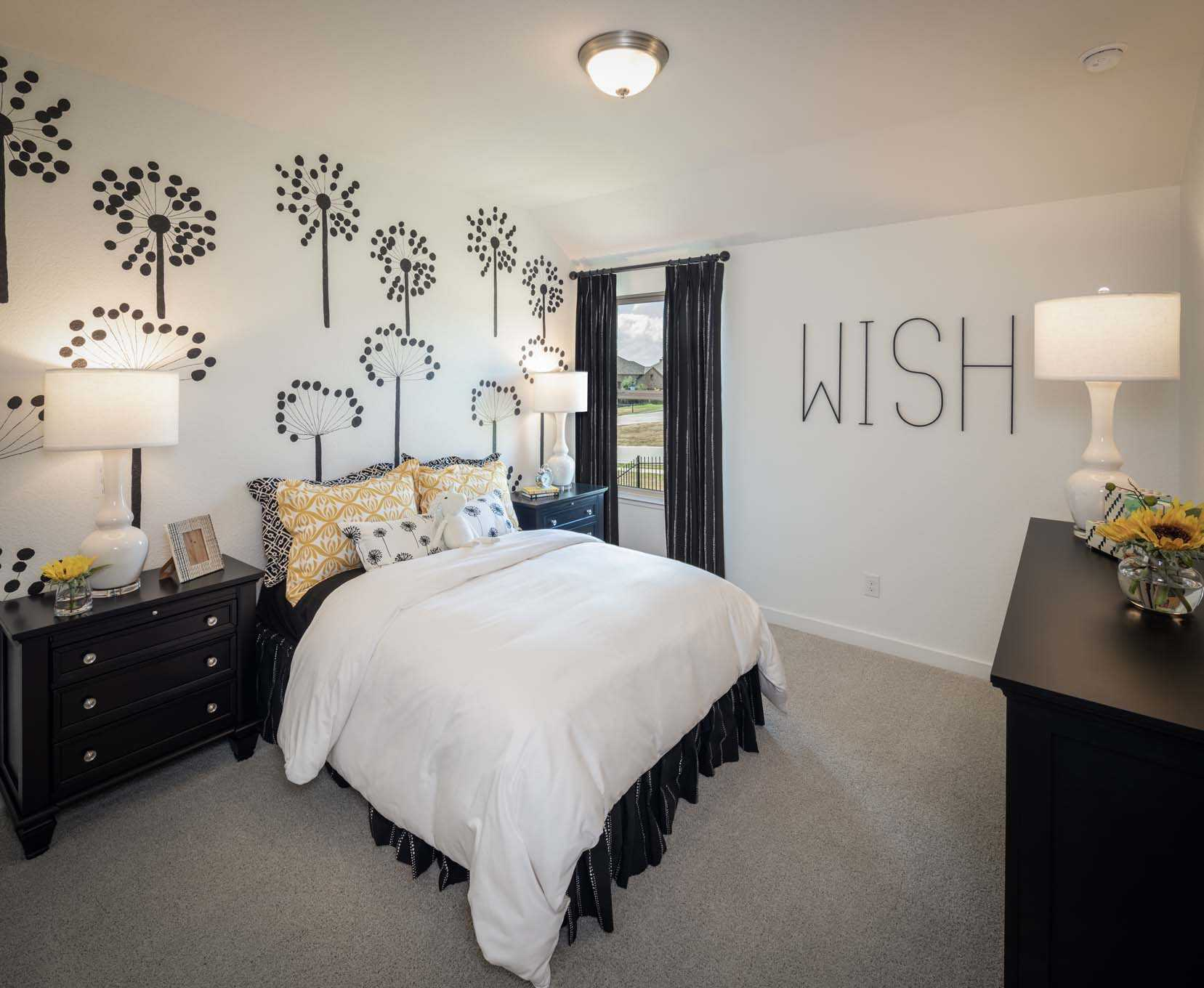 Bedroom featured in the Plan Everleigh By Highland Homes in Houston, TX