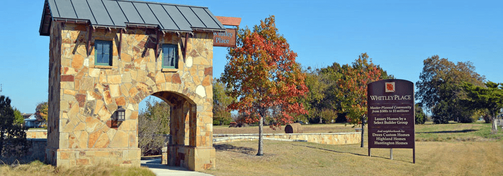 'Whitley Place' by Huntington Homes in Dallas