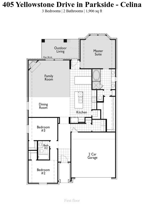 Plan Glenhurst 1