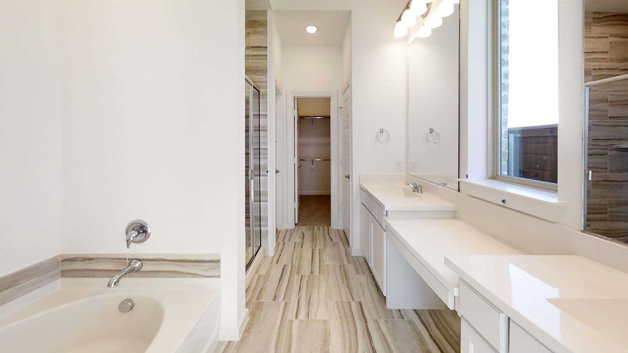 Bathroom featured in the Plan Wakefield By Highland Homes in Dallas, TX
