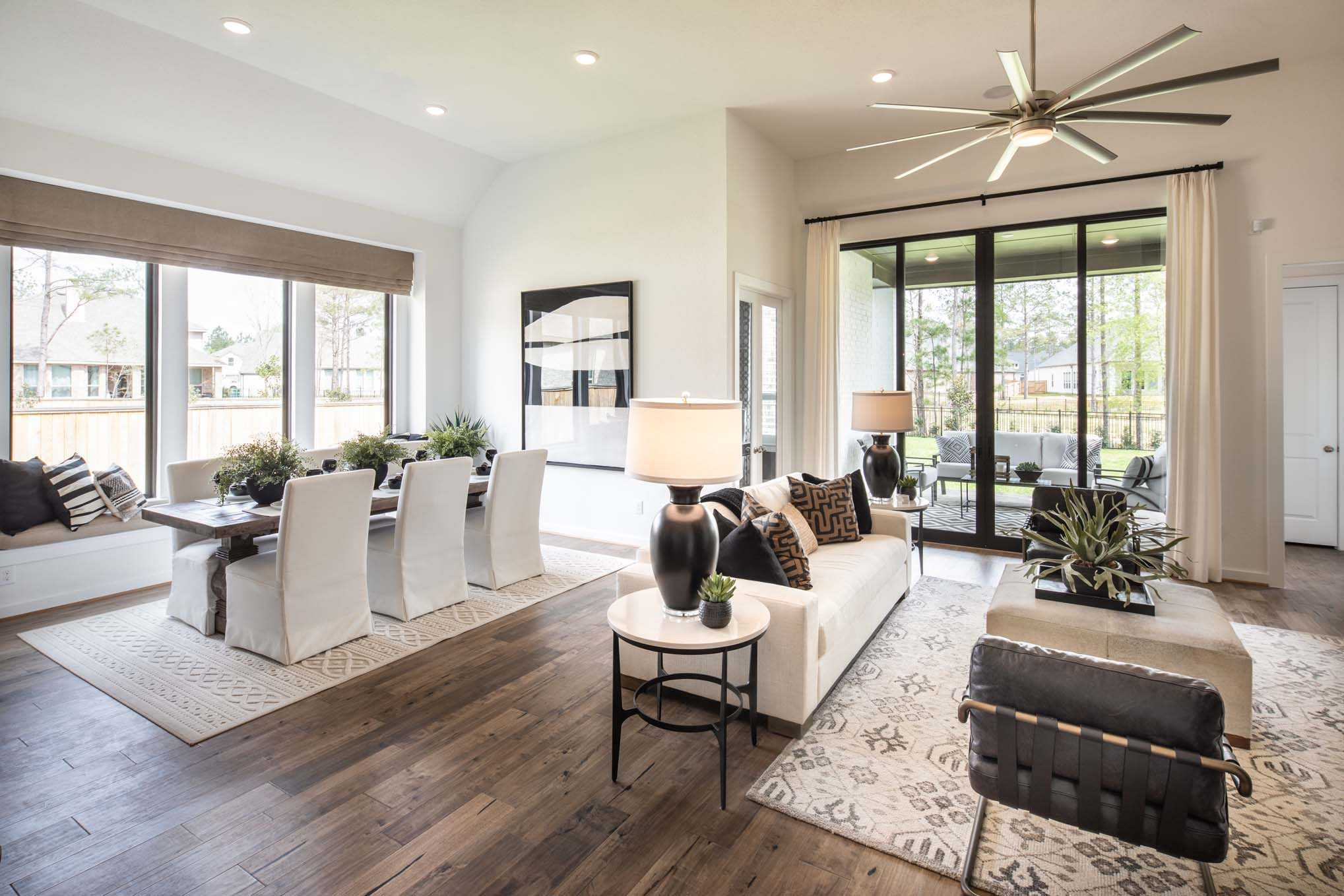 Living Area featured in the Plan 540 By Highland Homes in Houston, TX