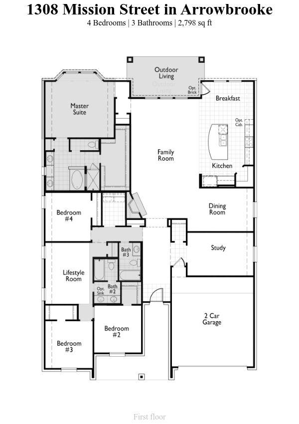 Plan Fairhall 1