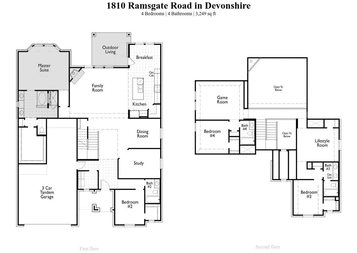 Plan Roxburgh 20
