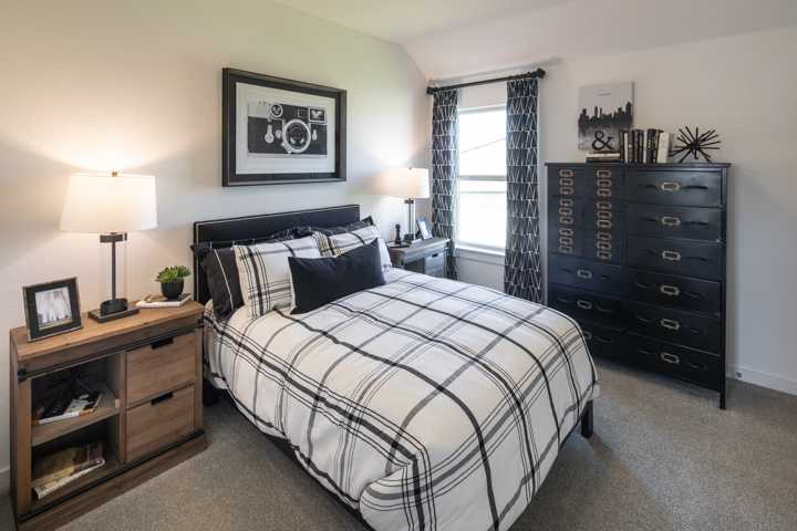 Bedroom featured in the Plan Ellington By Highland Homes in Dallas, TX