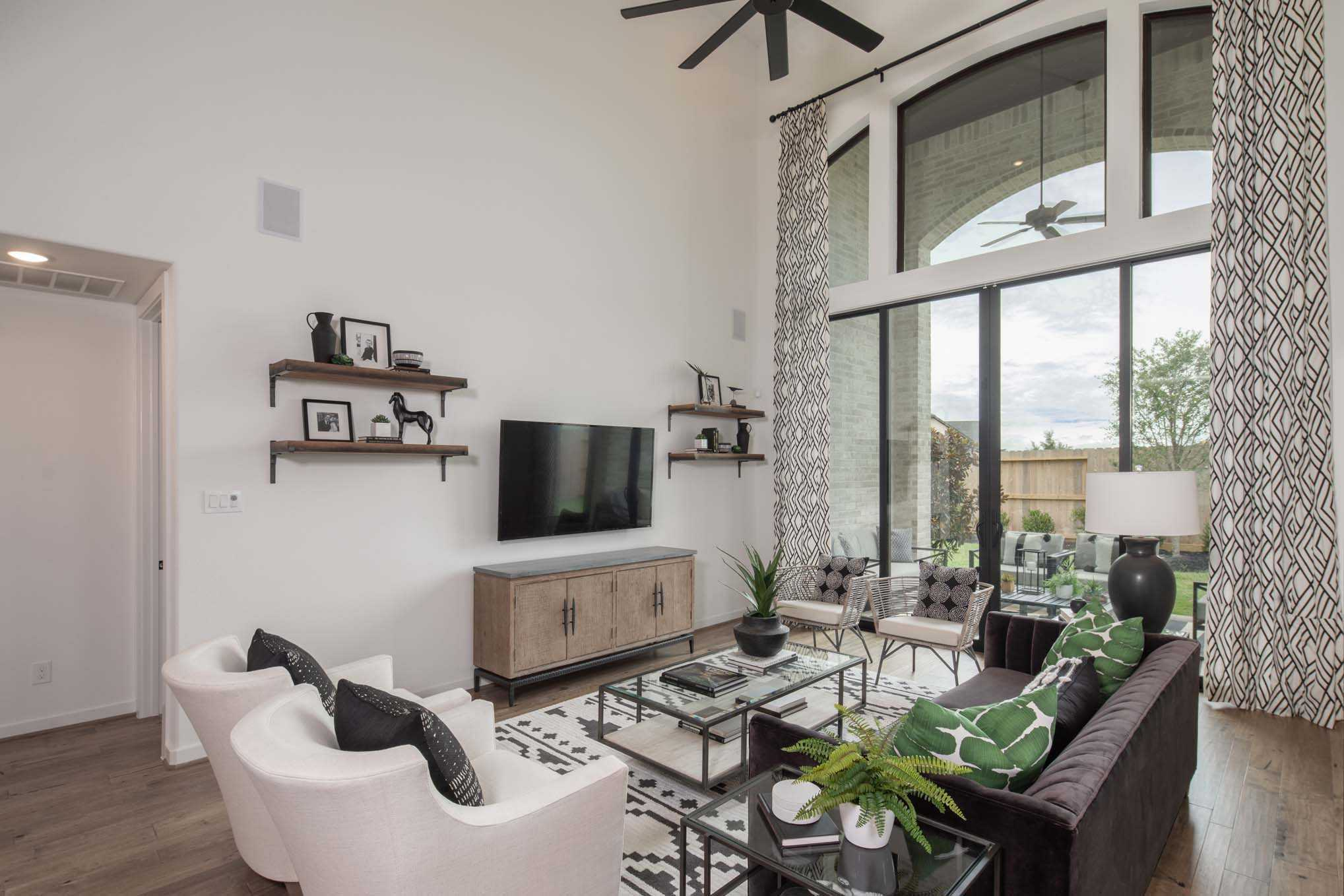 Living Area featured in the Plan 559H By Highland Homes in San Antonio, TX
