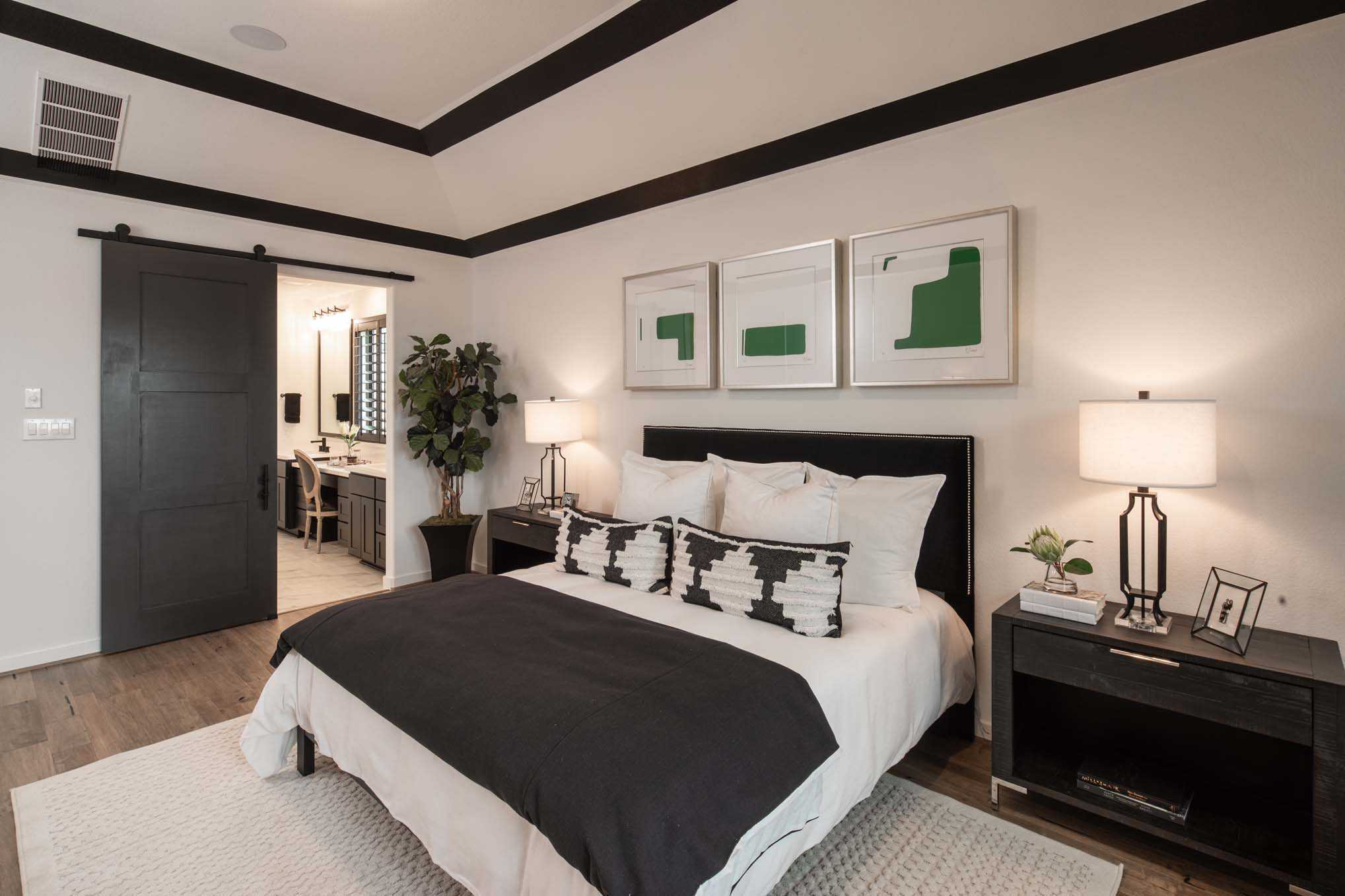 Bedroom featured in the Plan 559H By Highland Homes in San Antonio, TX