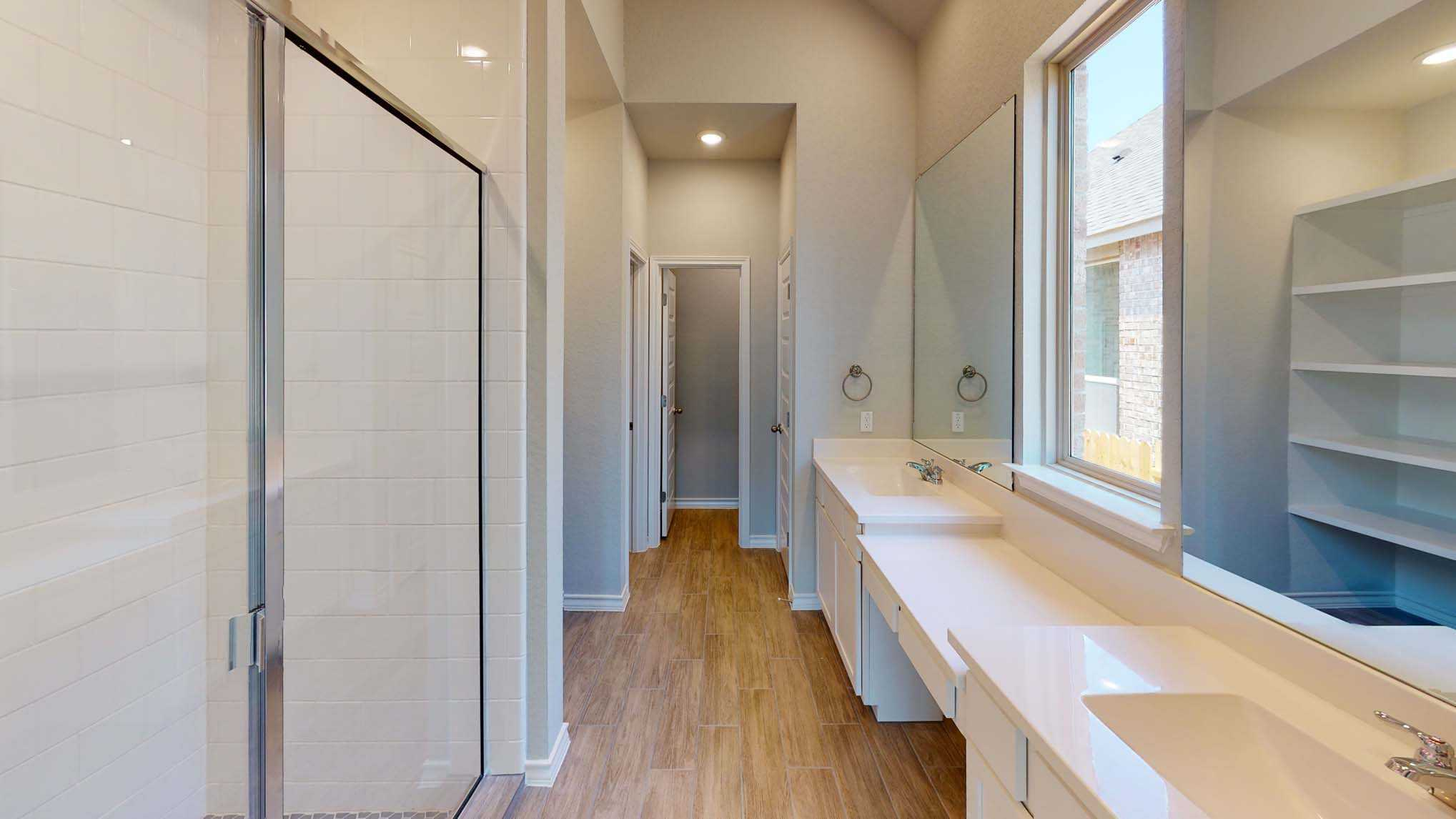 Bathroom featured in the Plan Dorchester By Highland Homes in San Antonio, TX