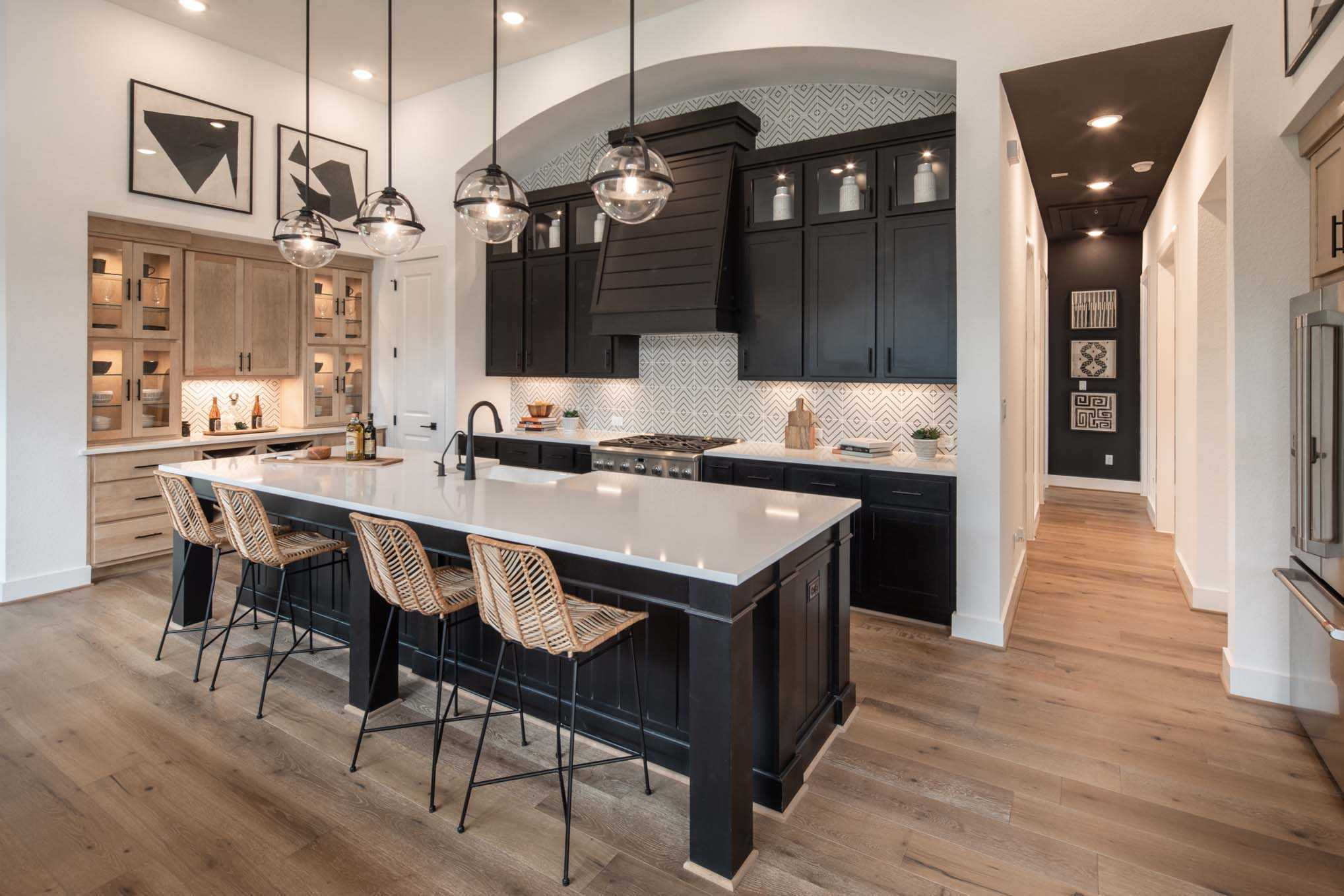 Kitchen featured in the Plan 215 By Highland Homes in San Antonio, TX