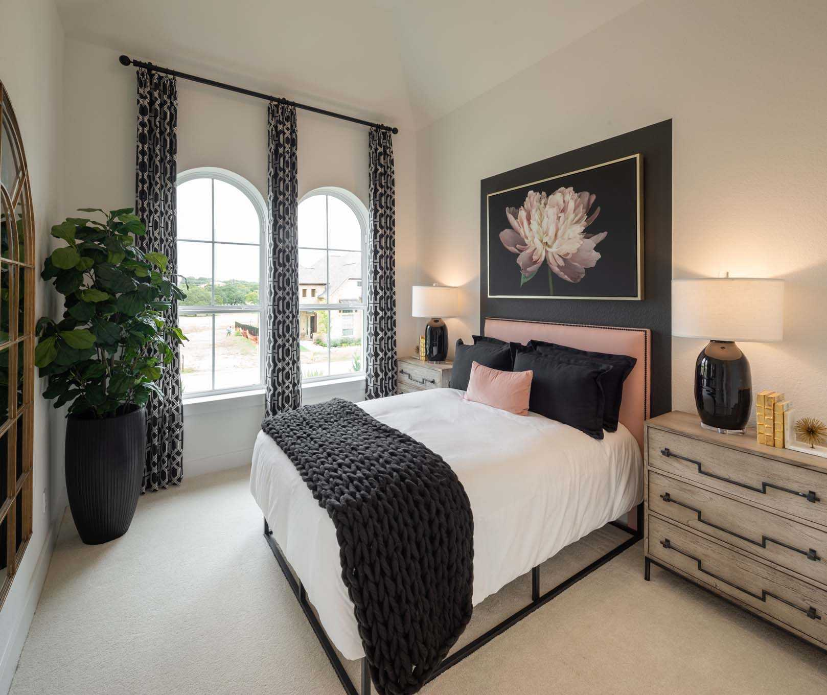 Bedroom featured in the Plan 215 By Highland Homes in San Antonio, TX