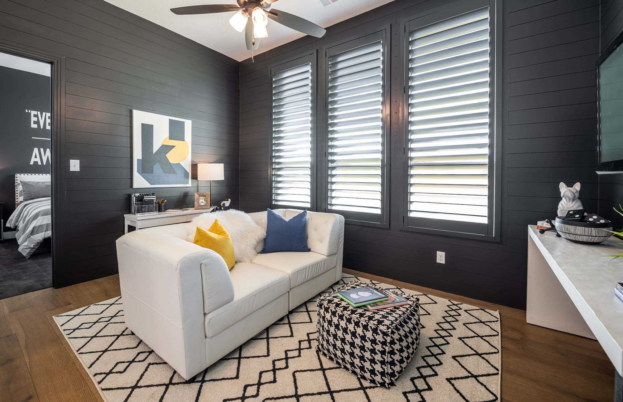 Living Area featured in the Plan Fleetwood By Highland Homes in San Antonio, TX