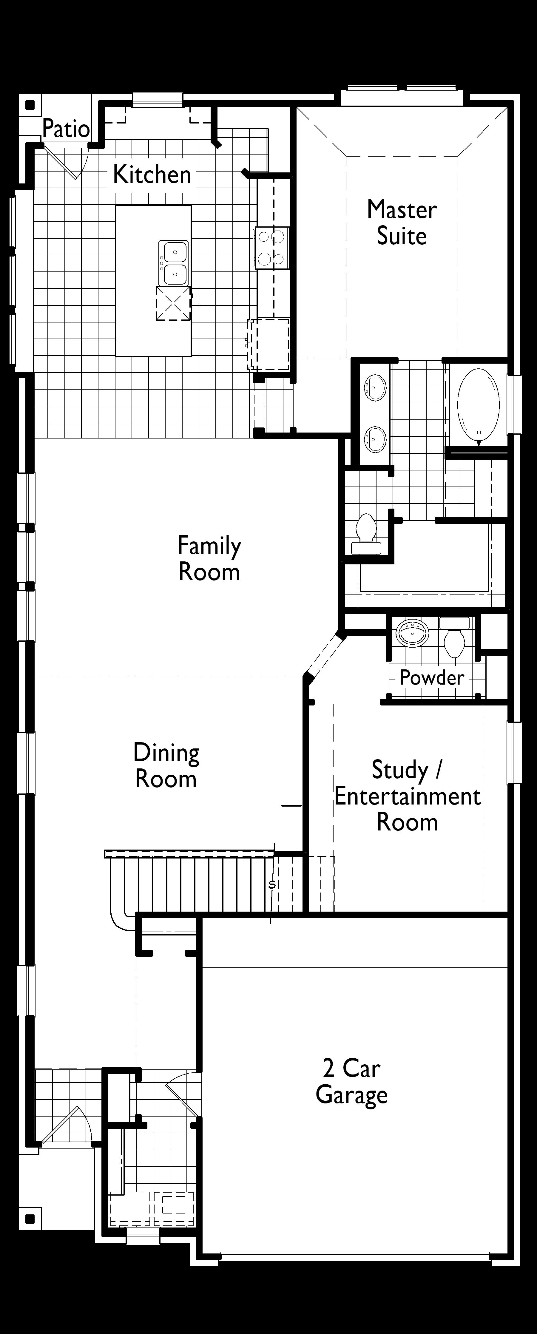 Plan Ellington 36