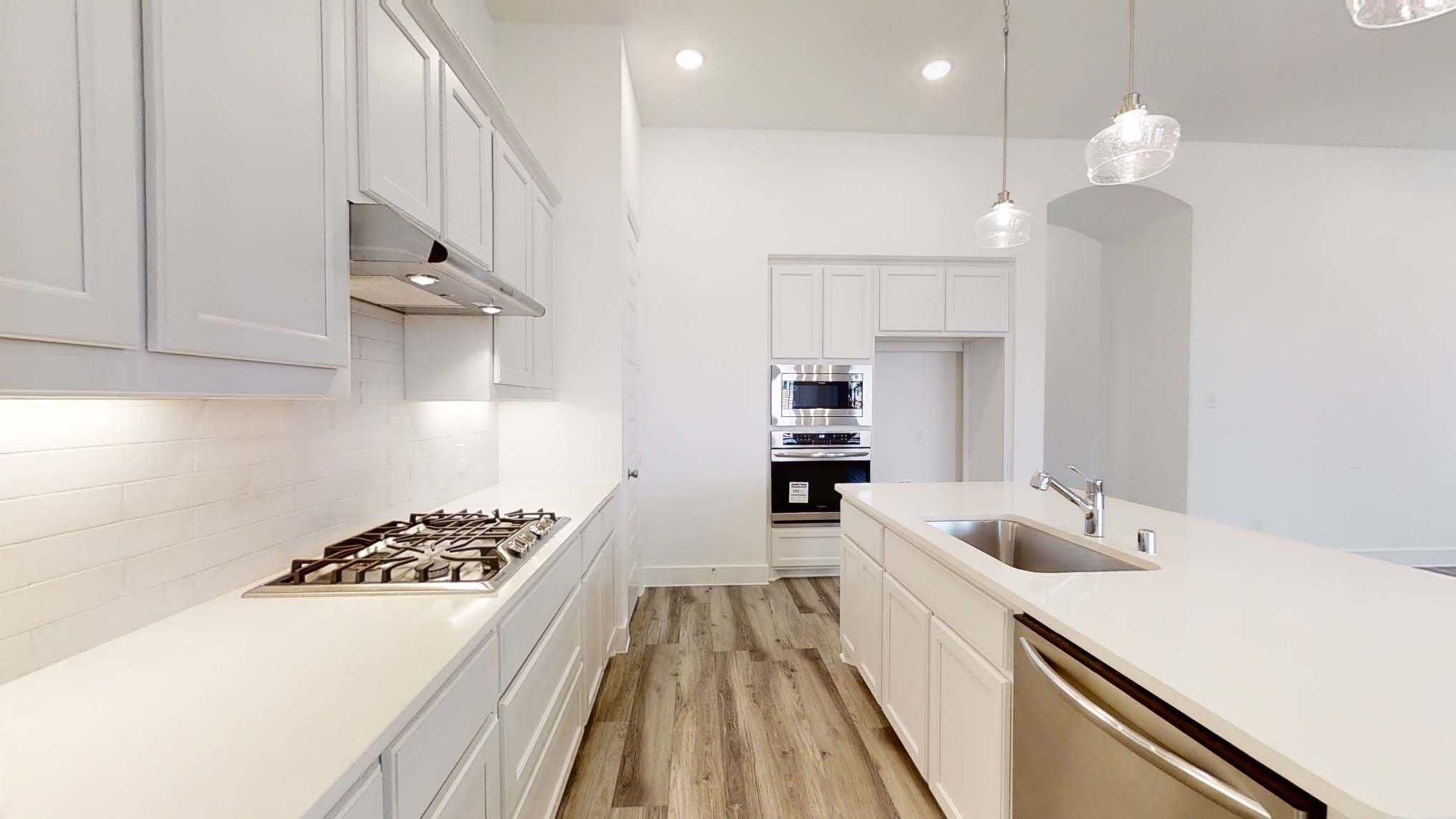 Kitchen featured in the Plan Glenhurst By Highland Homes in Dallas, TX