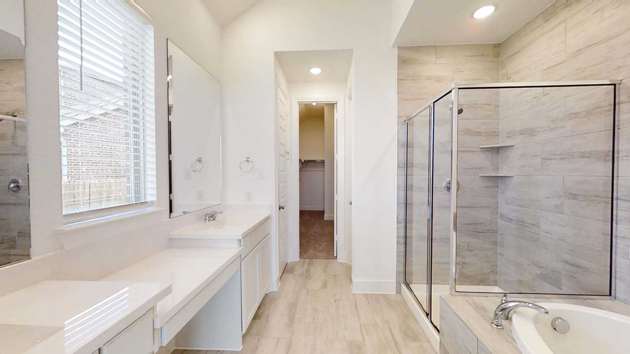 Bathroom featured in the Plan Glenhurst By Highland Homes in Dallas, TX