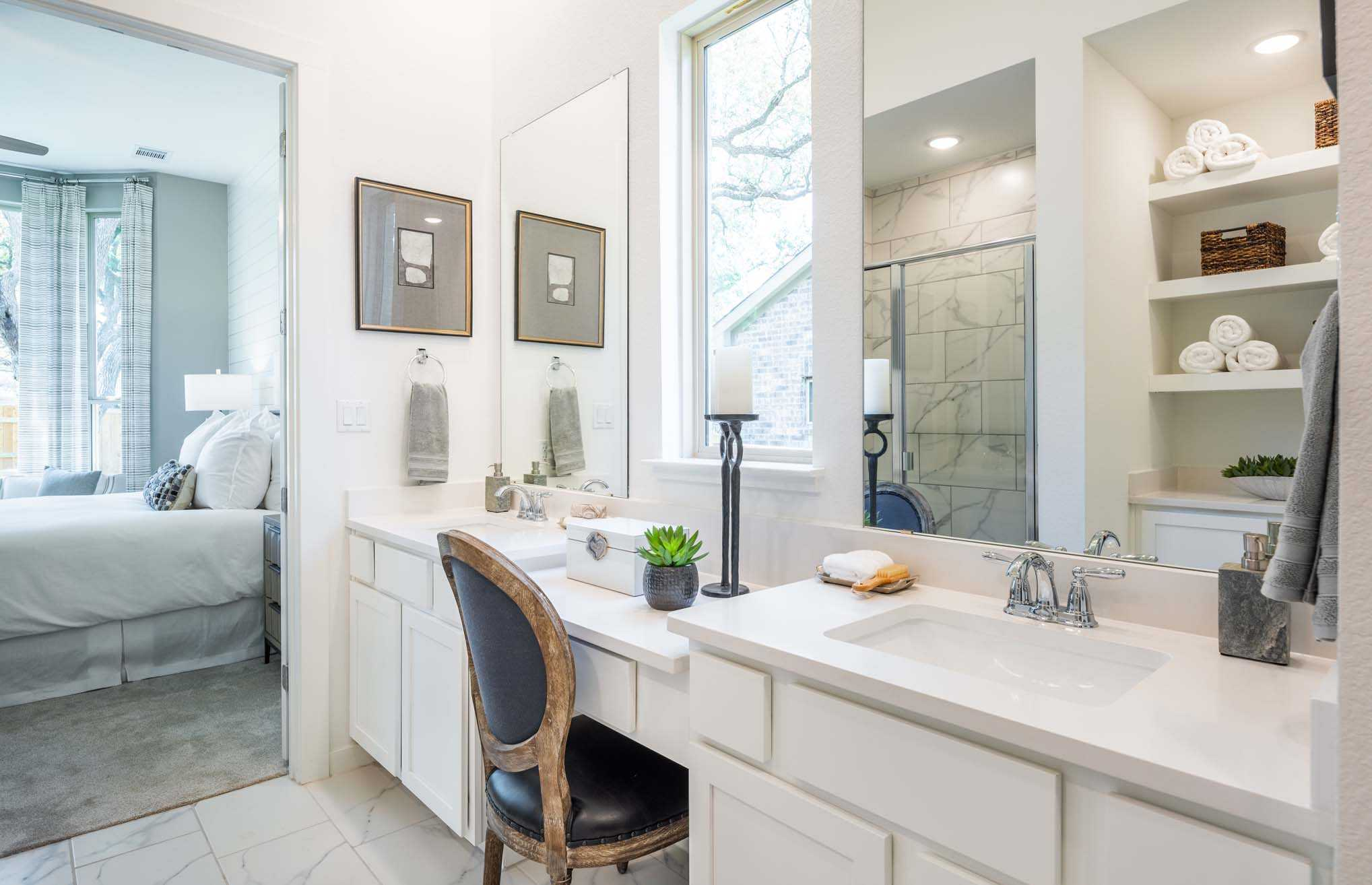Bathroom featured in the Plan Denton By Highland Homes in San Antonio, TX
