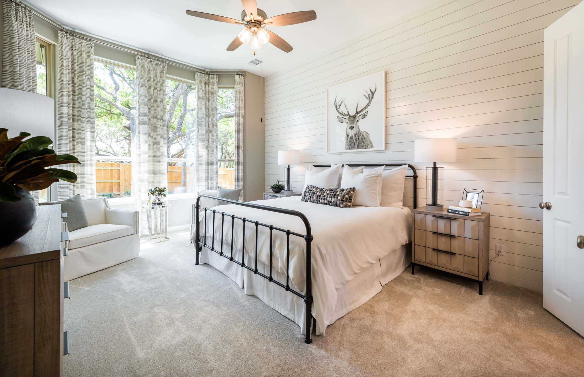 Bedroom featured in the Plan Denton By Highland Homes in San Antonio, TX